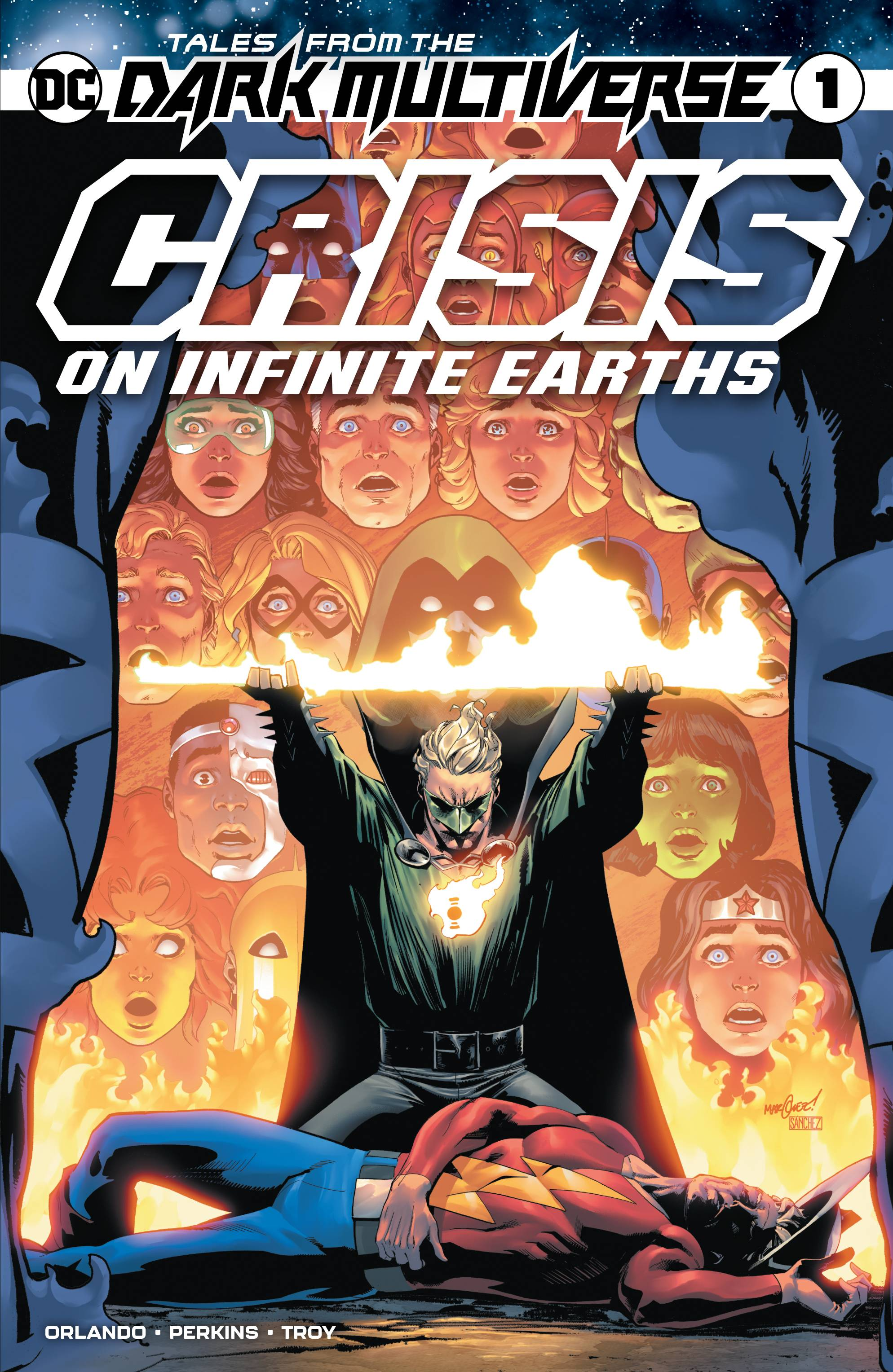 TALES OF THE DARK MULTIVERSE CRISIS ON INFINITE EARTHS #1