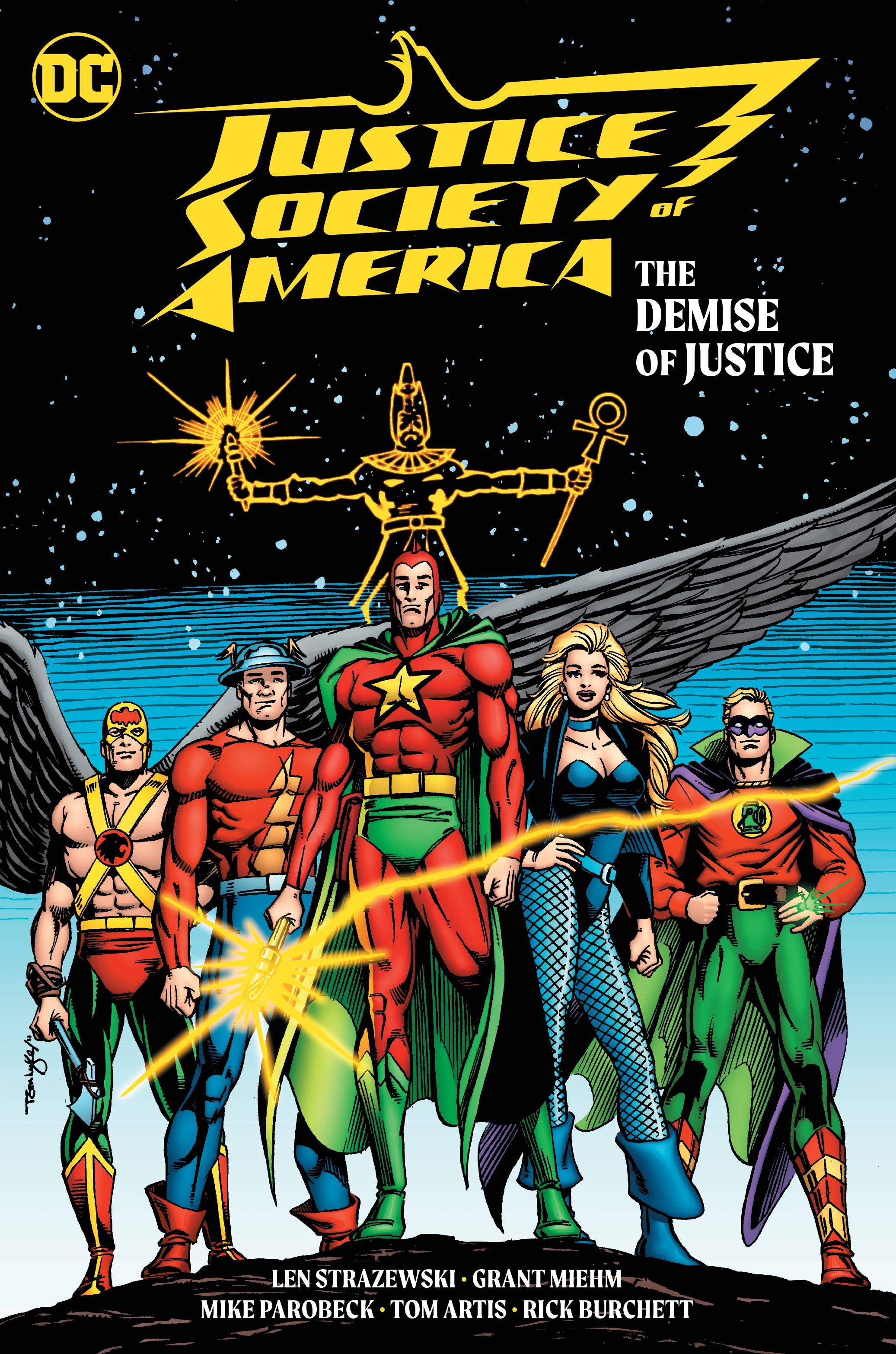 JUSTICE SOCIETY OF AMERICA THE DEMISE OF JUSTICE TP