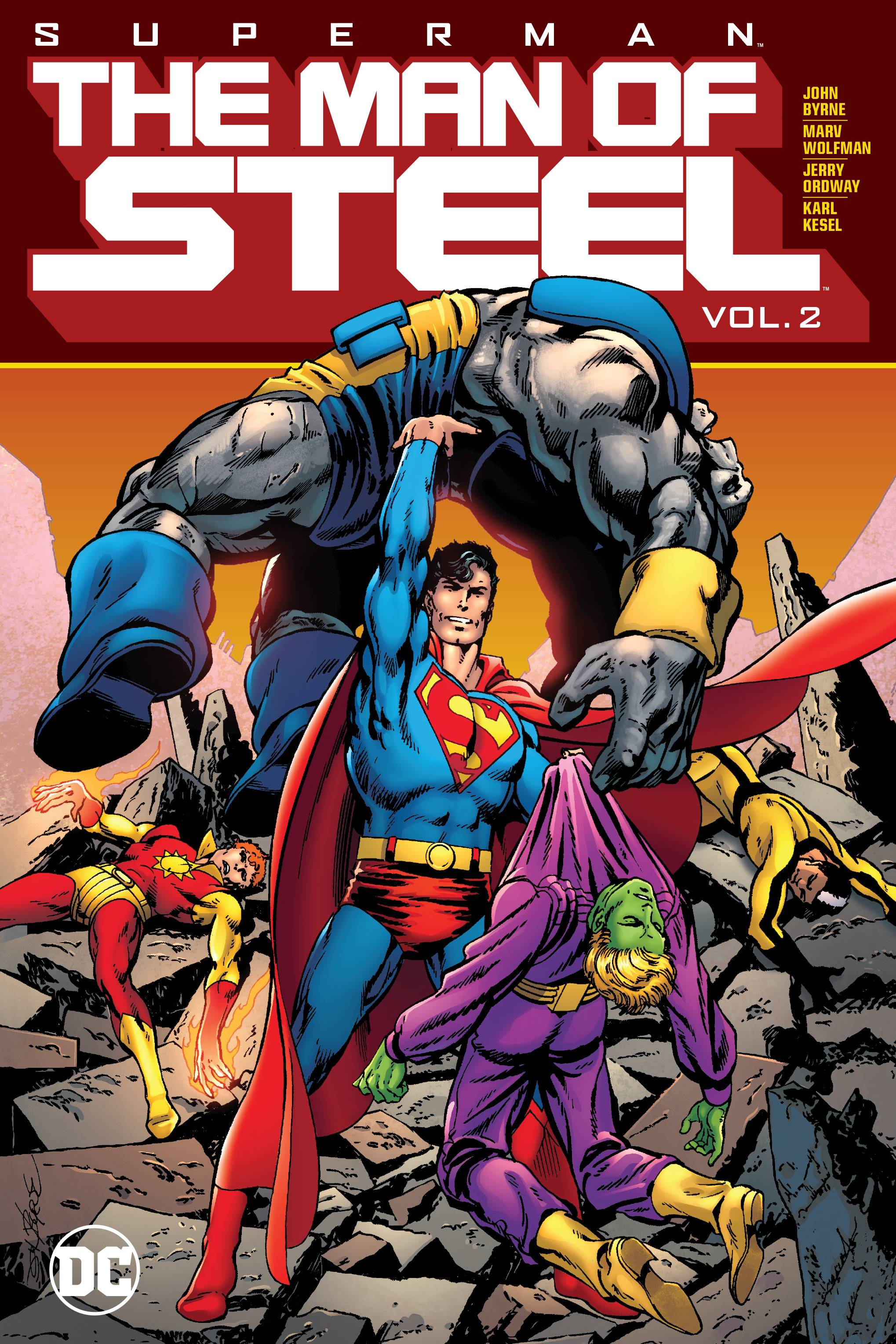SUPERMAN THE MAN OF STEEL HC VOL 02