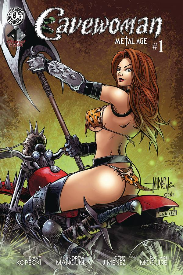 CAVEWOMAN METAL AGE #1 (OF 2) CVR A MANGUM (MR)
