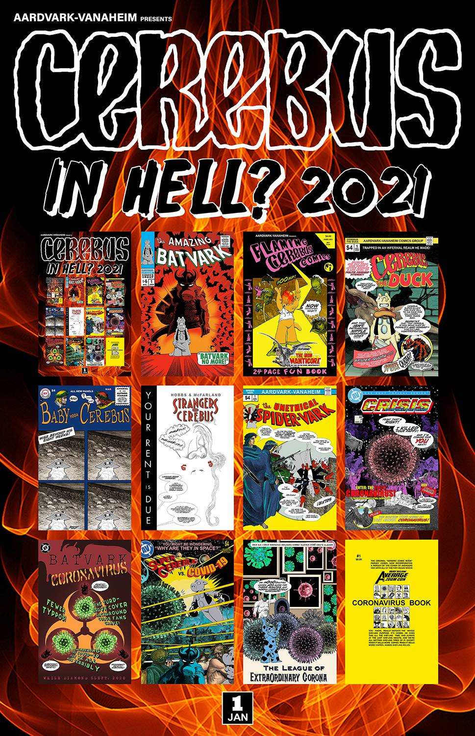 CEREBUS IN HELL 2021 PREVIEW ONE SHOT