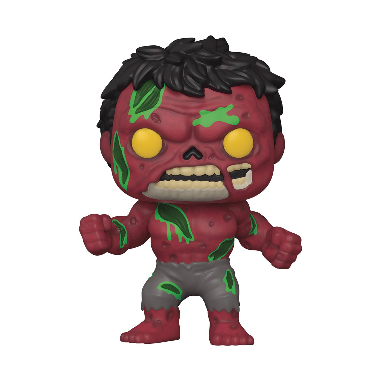 POP MARVEL ZOMBIES RED HULK VINYL FIG