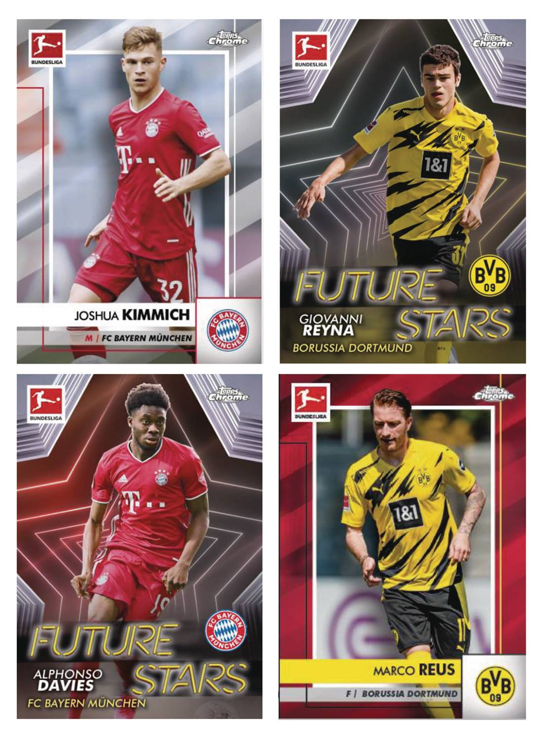 TOPPS 2021 CHROME BUNDESLIGA SOCCER T/C BOX
