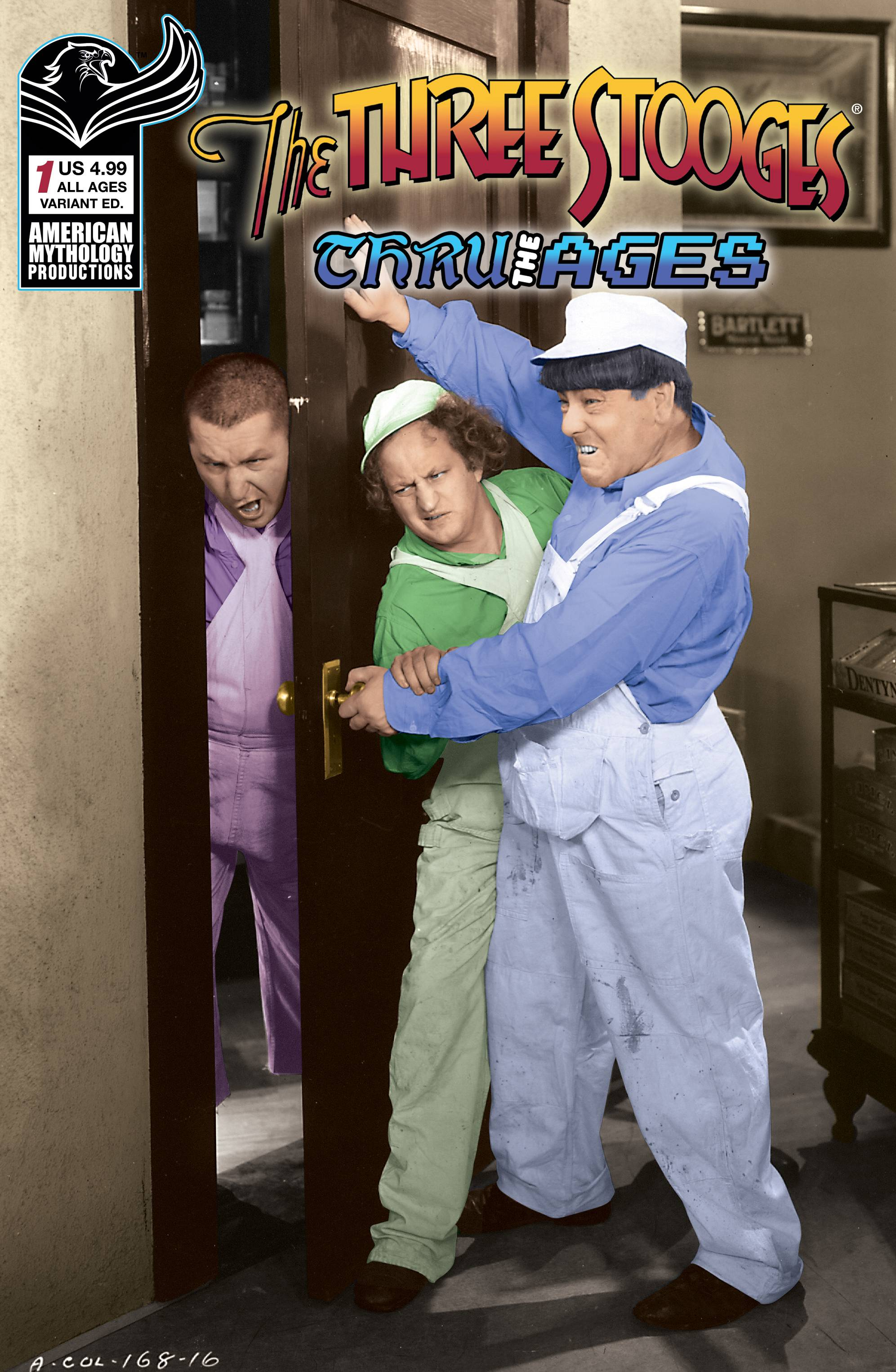 THREE STOOGES THROUGH THE AGES #1 CVR B PHOTO
