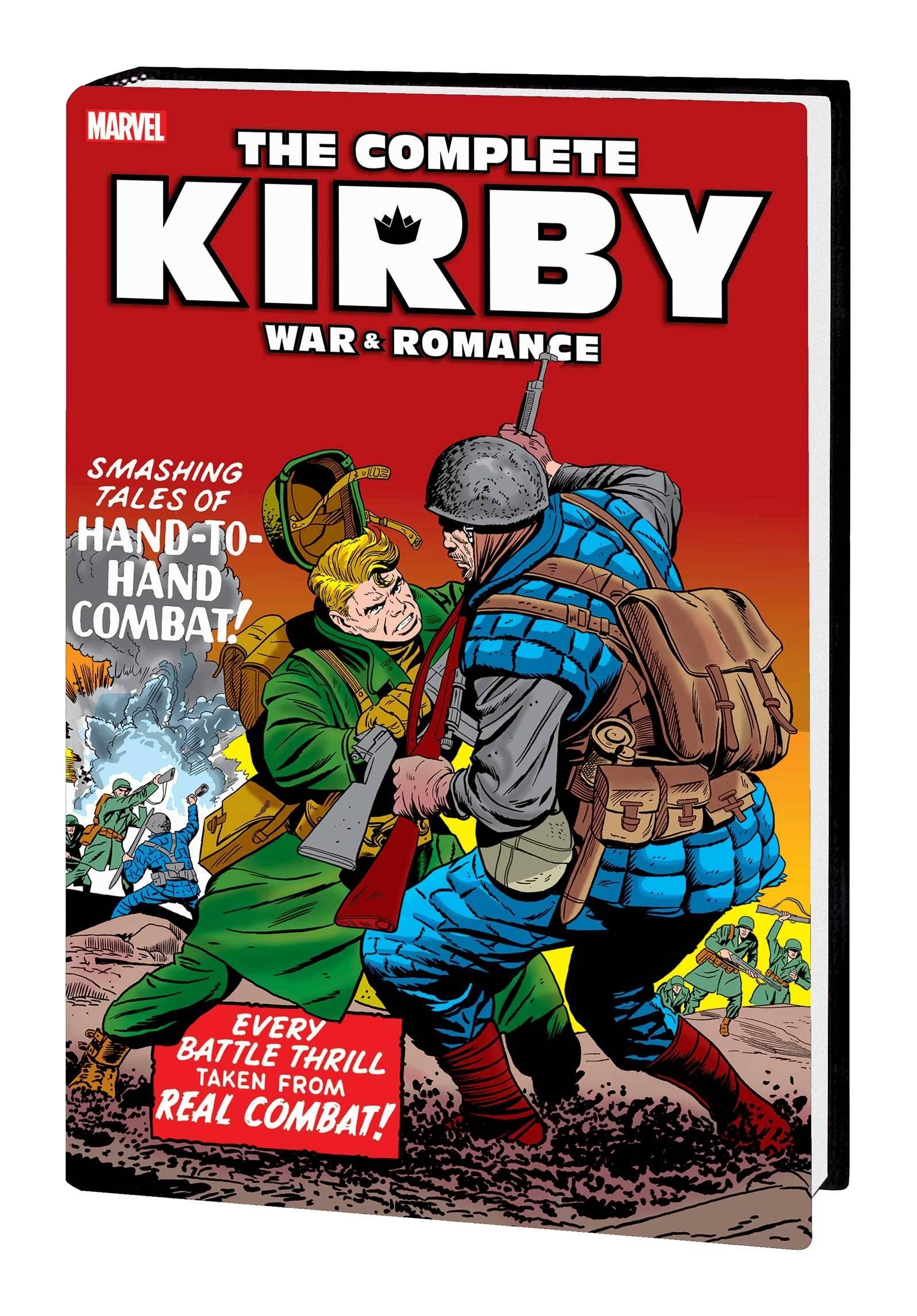 COMPLETE KIRBY WAR AND ROMANCE HC WAR CVR