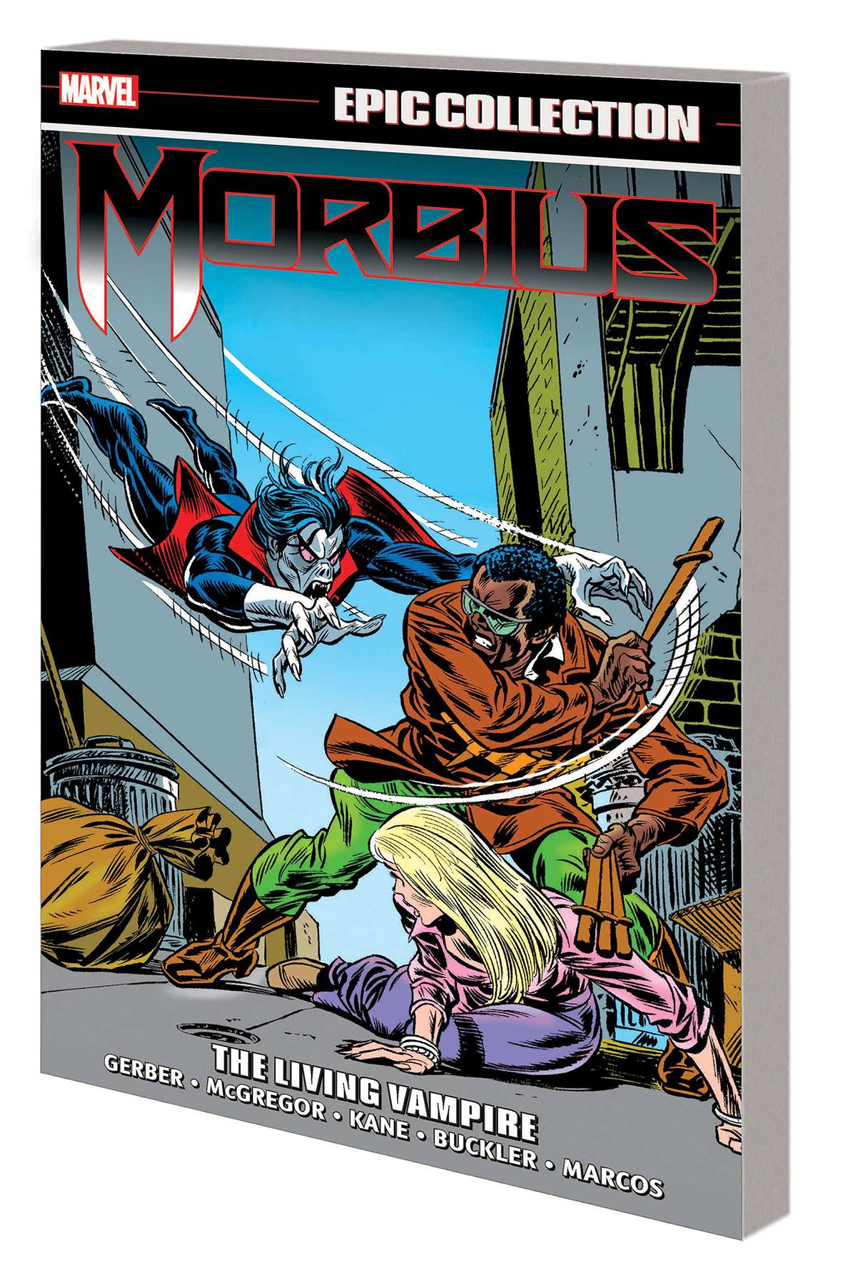 MORBIUS EPIC COLLECTION TP LIVING VAMPIRE