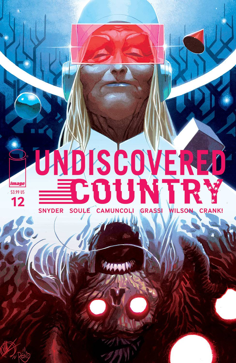 UNDISCOVERED COUNTRY #12 CVR B SCALERA (MR)