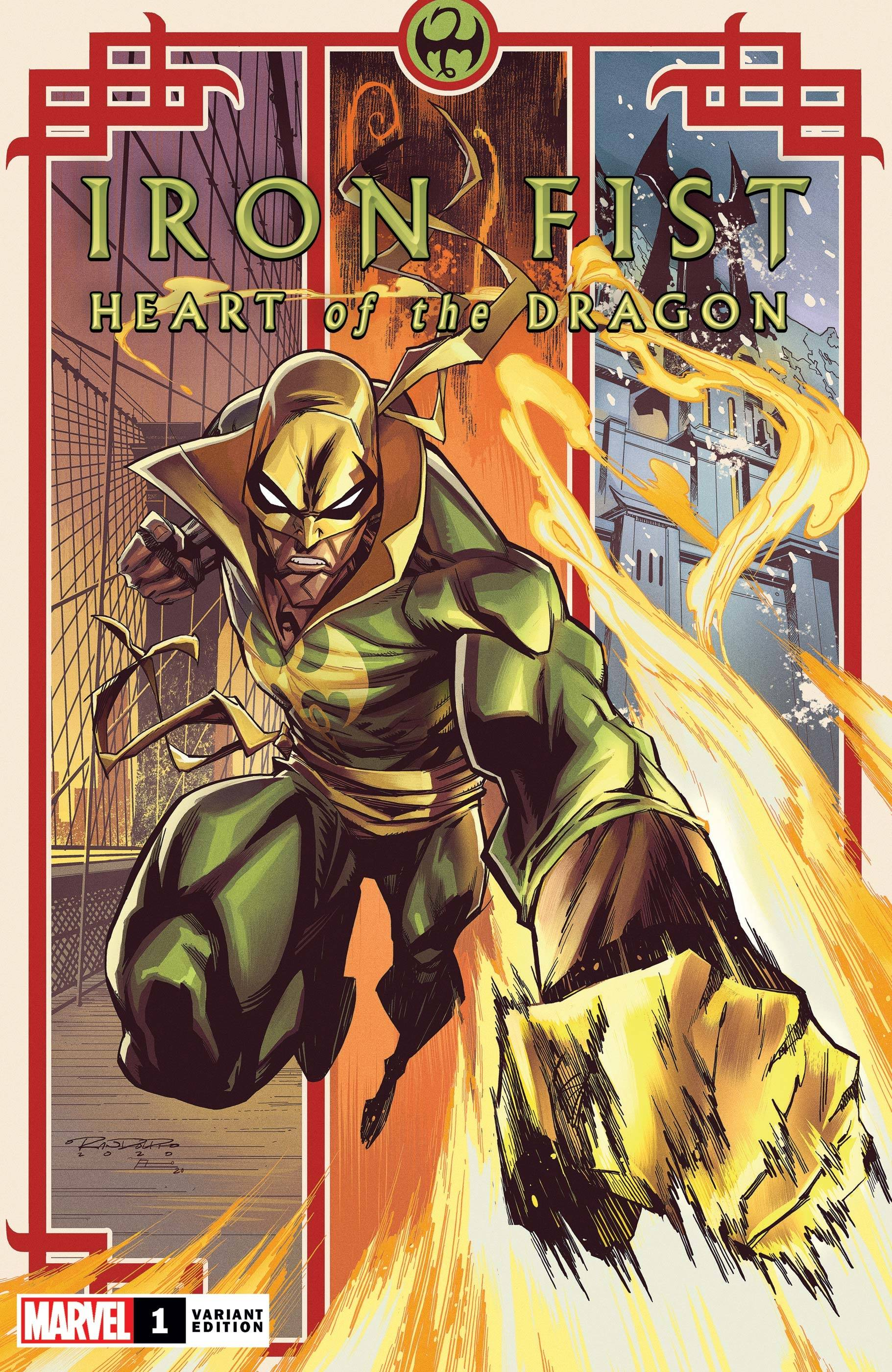 IRON FIST HEART OF DRAGON #1 (OF 6) RANDOLPH VAR