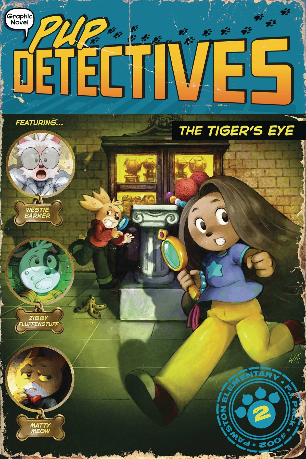 PUP DETECTIVE GN VOL 02 TIGERS EYE