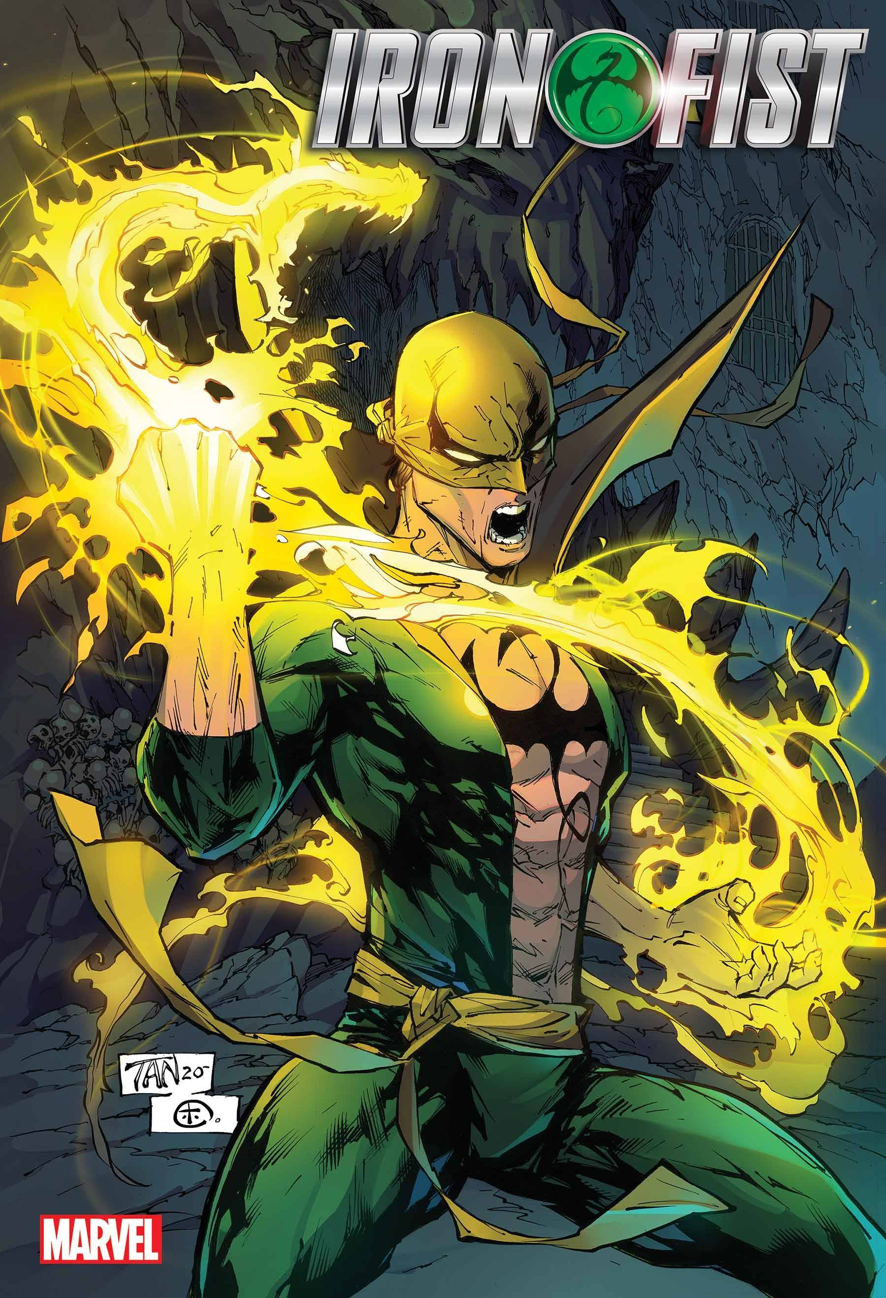 IRON FIST HEART OF DRAGON #1 POSTER