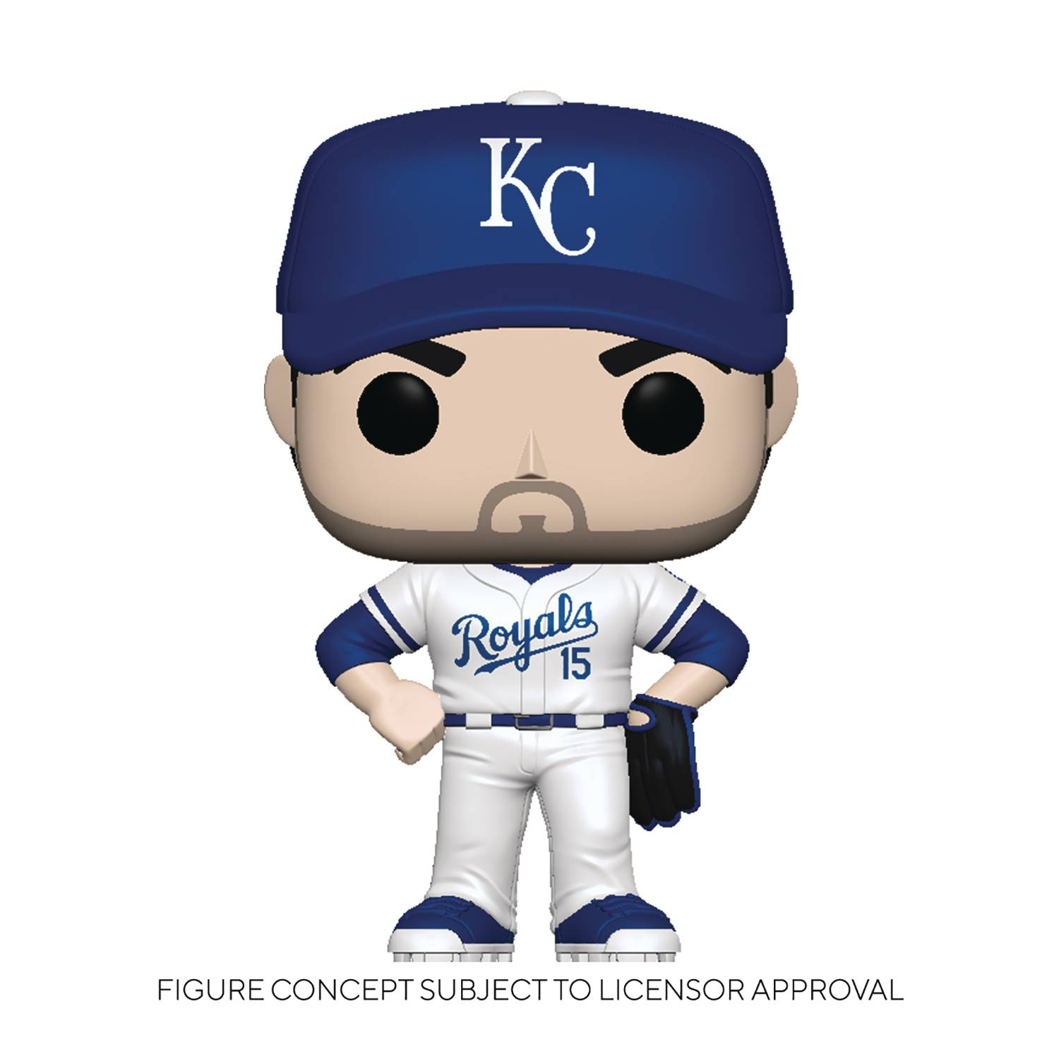 POP MLB ROYALS WHIT MERRIFIELD HOME UNIFORM VINYL FIG