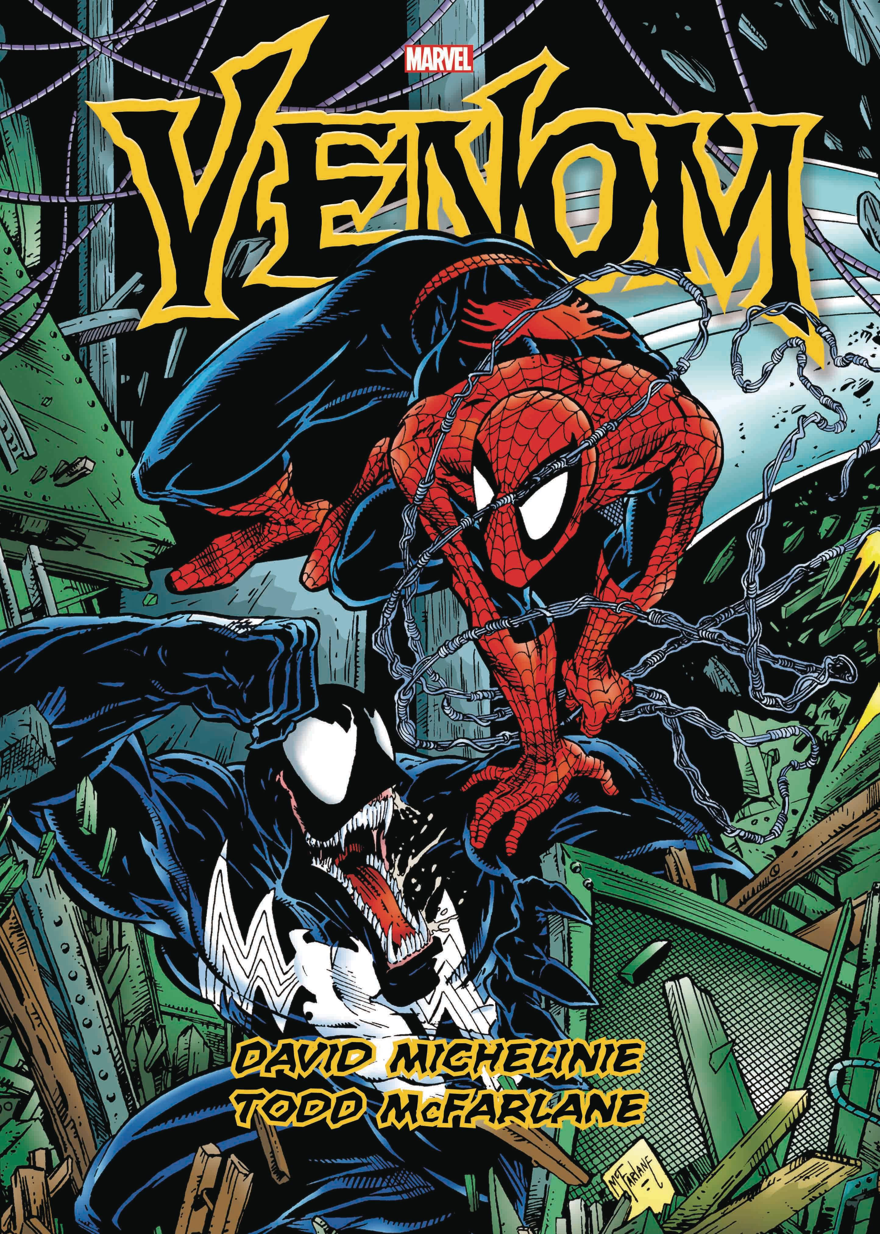 VENOM BY MICHELINIE AND MCFARLANE GALLERY EDITION HC