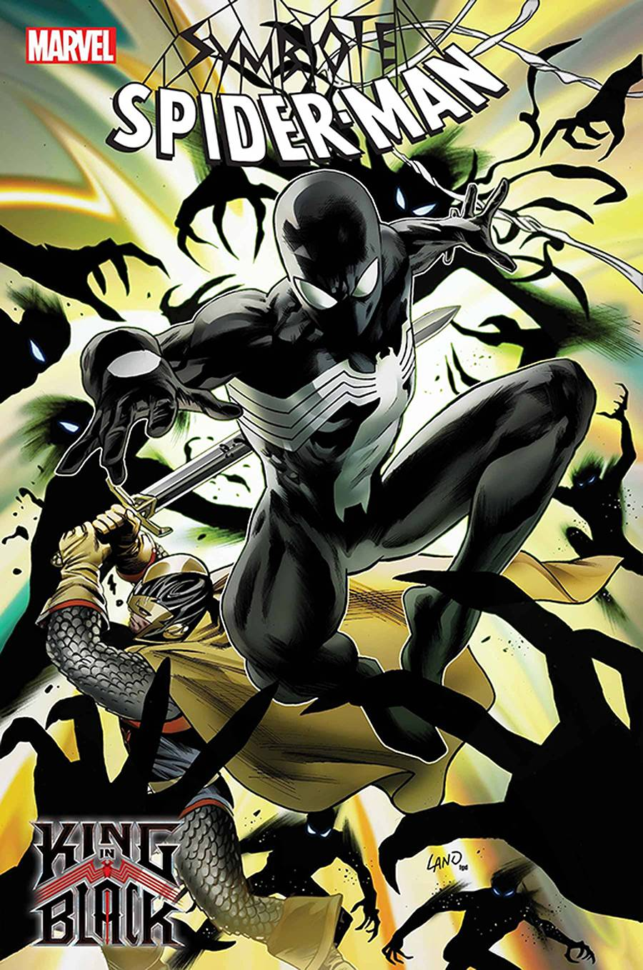 DF SYMBIOTE SPIDERMAN KING IN BLACK #2 DAVID SGN