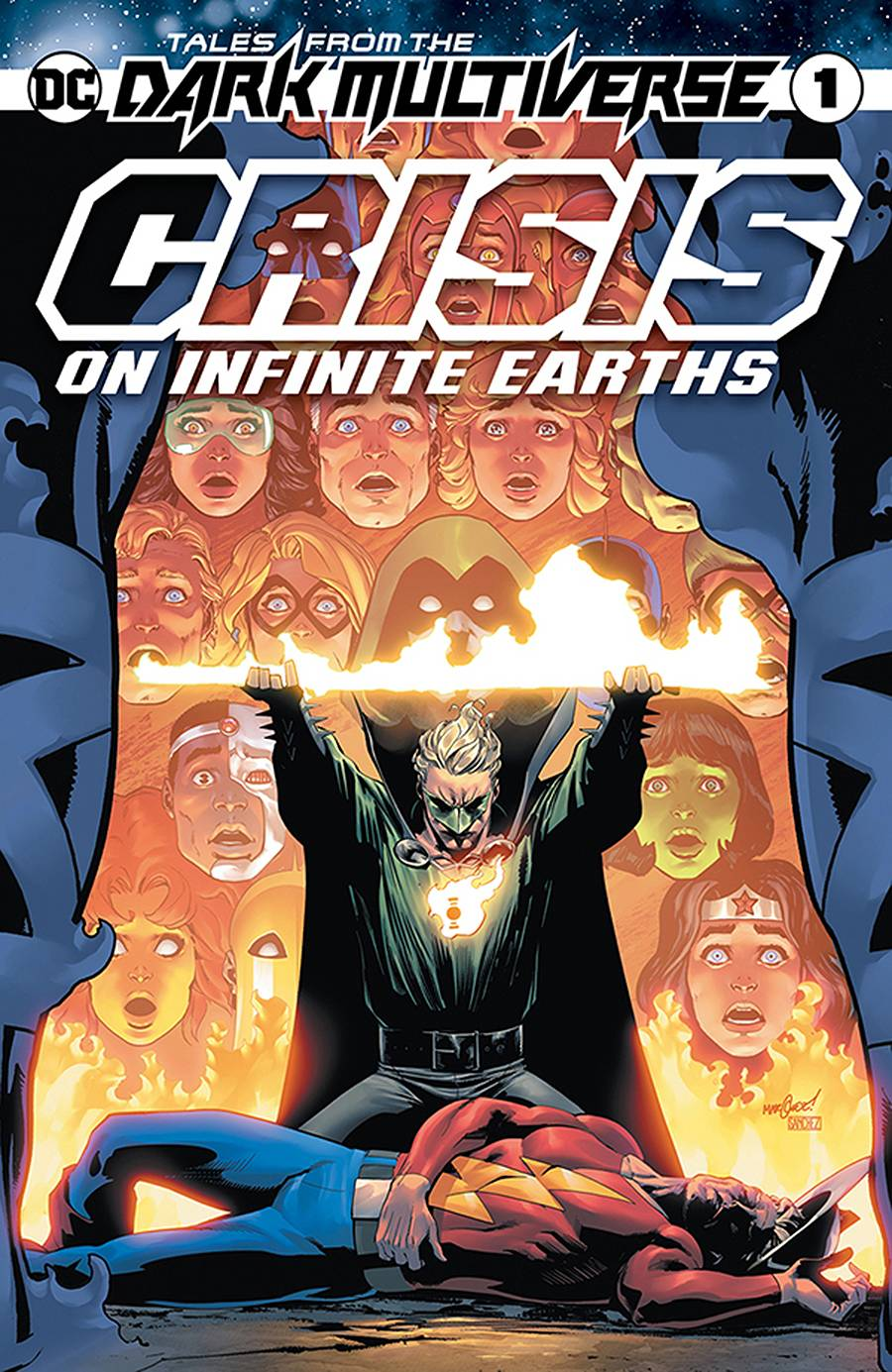 DF TALES FROM DARK MULTIVERSE CRISIS #1 ORLANDO SGN