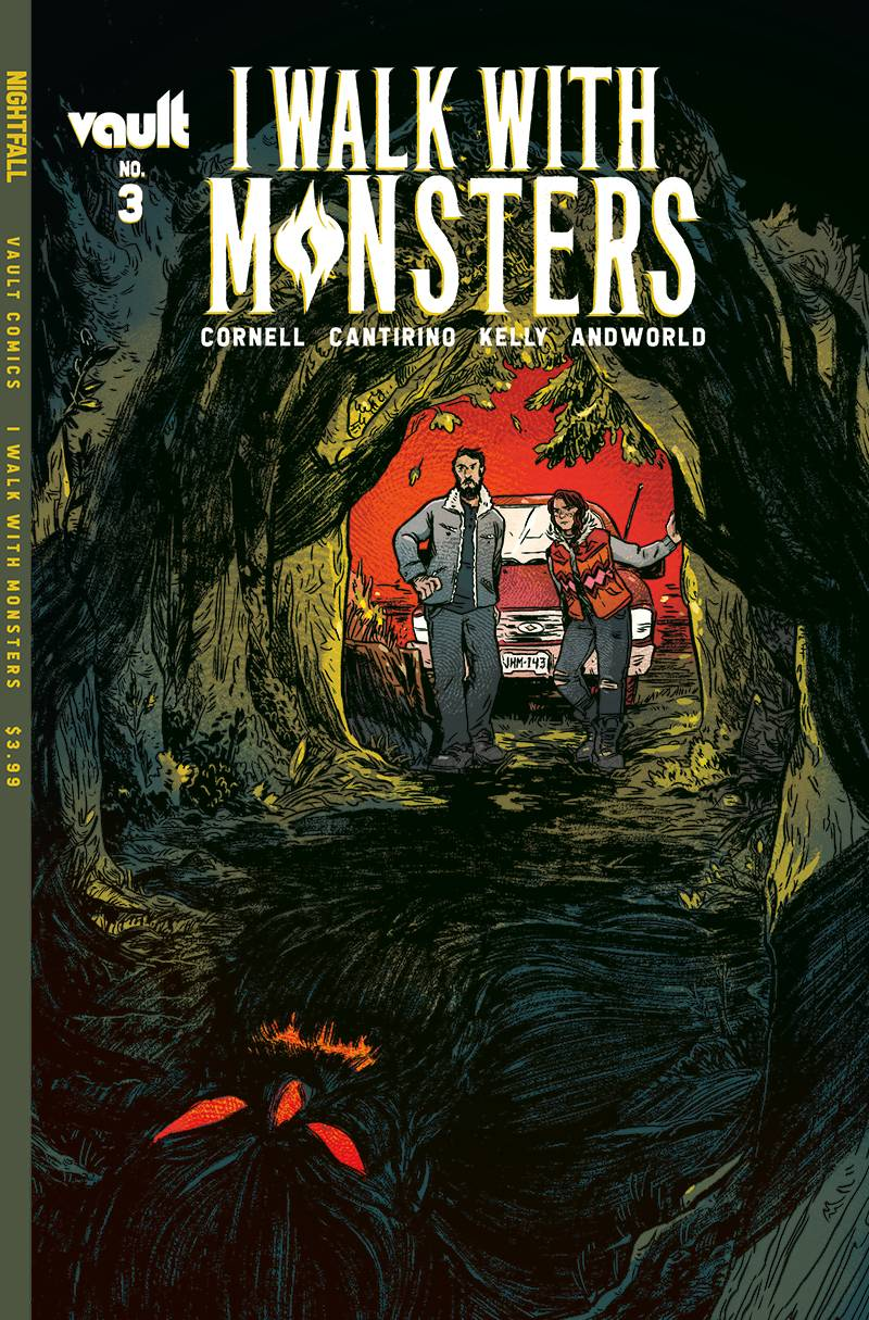 I WALK WITH MONSTERS #3 CVR A CANTIRINO (MR)