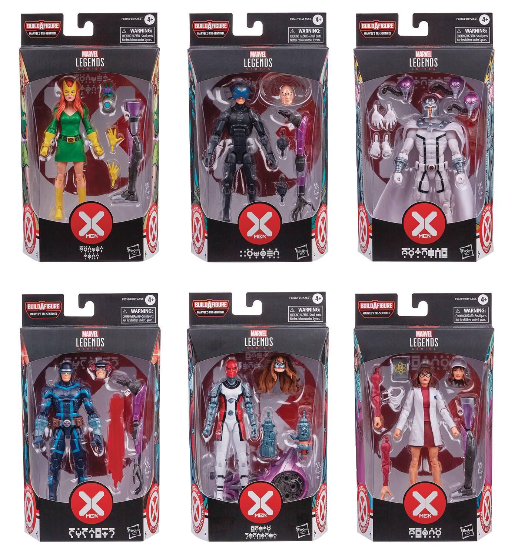 X-MEN LEGENDS 6IN AF ASST 202101