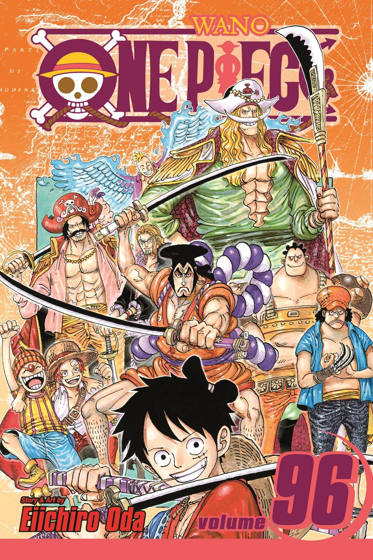 ONE PIECE GN VOL 96