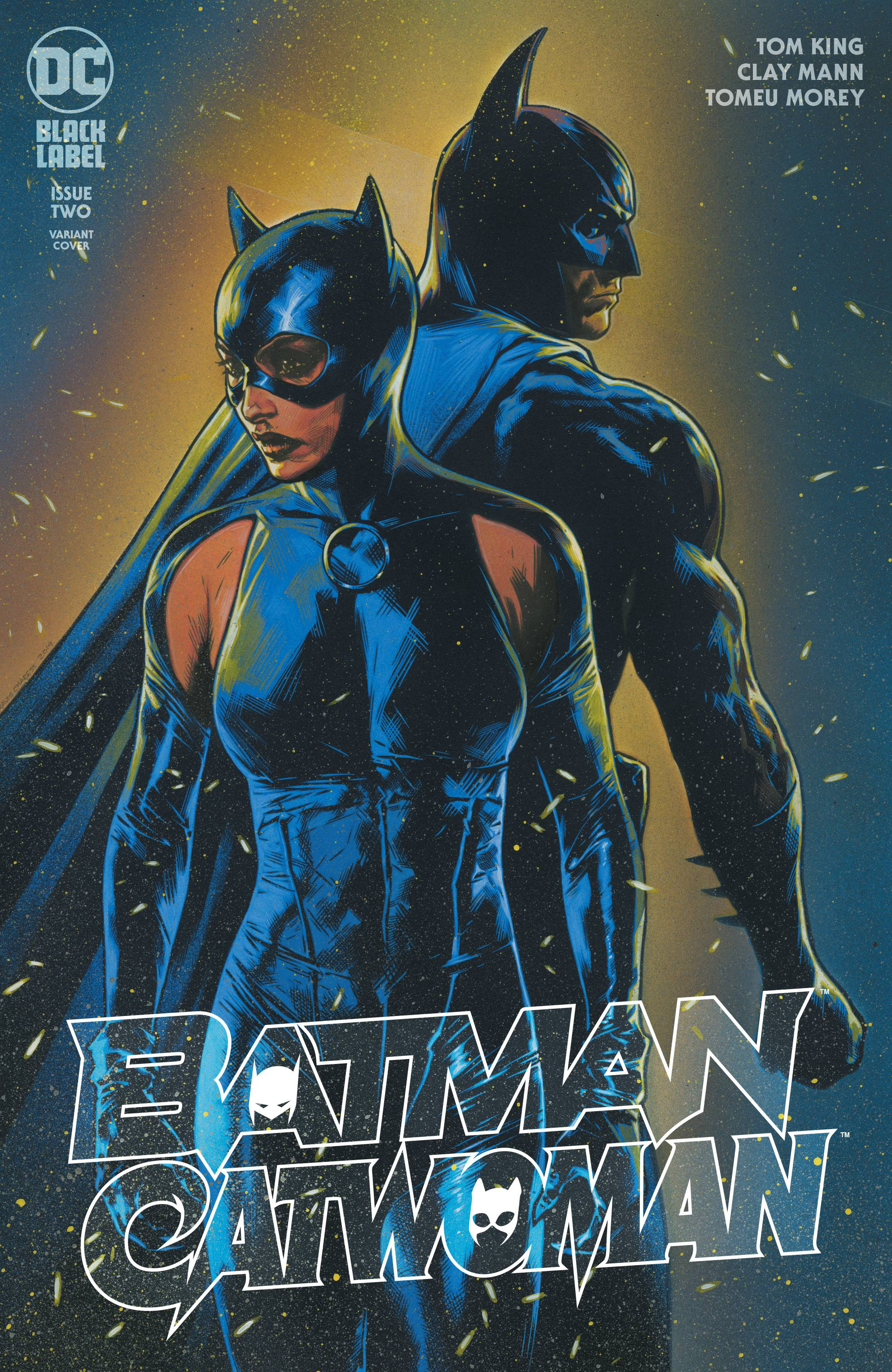 BATMAN CATWOMAN #2 TRAVIS CHAREST VAR ED