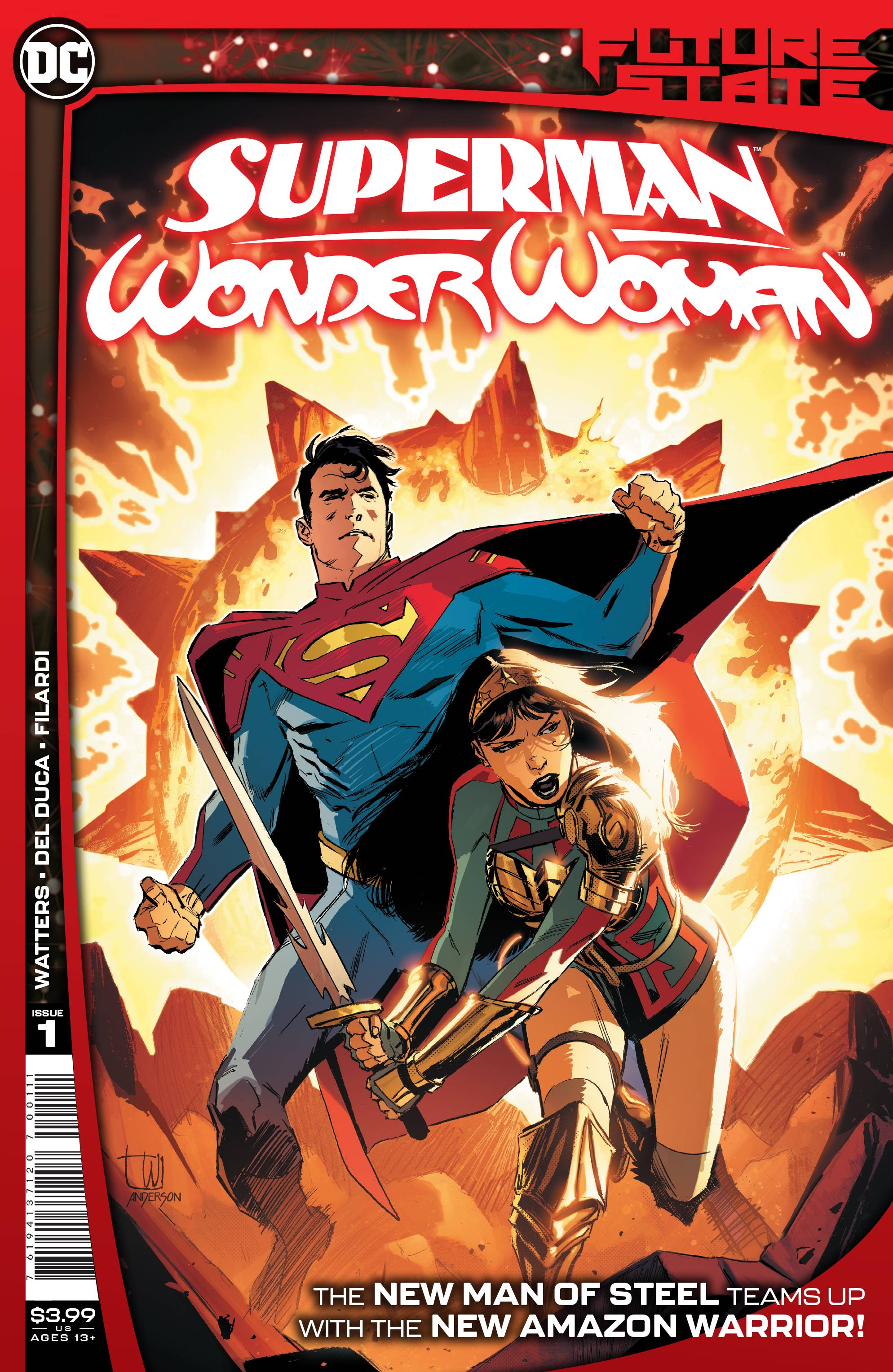 FUTURE STATE SUPERMAN WONDER WOMAN #1