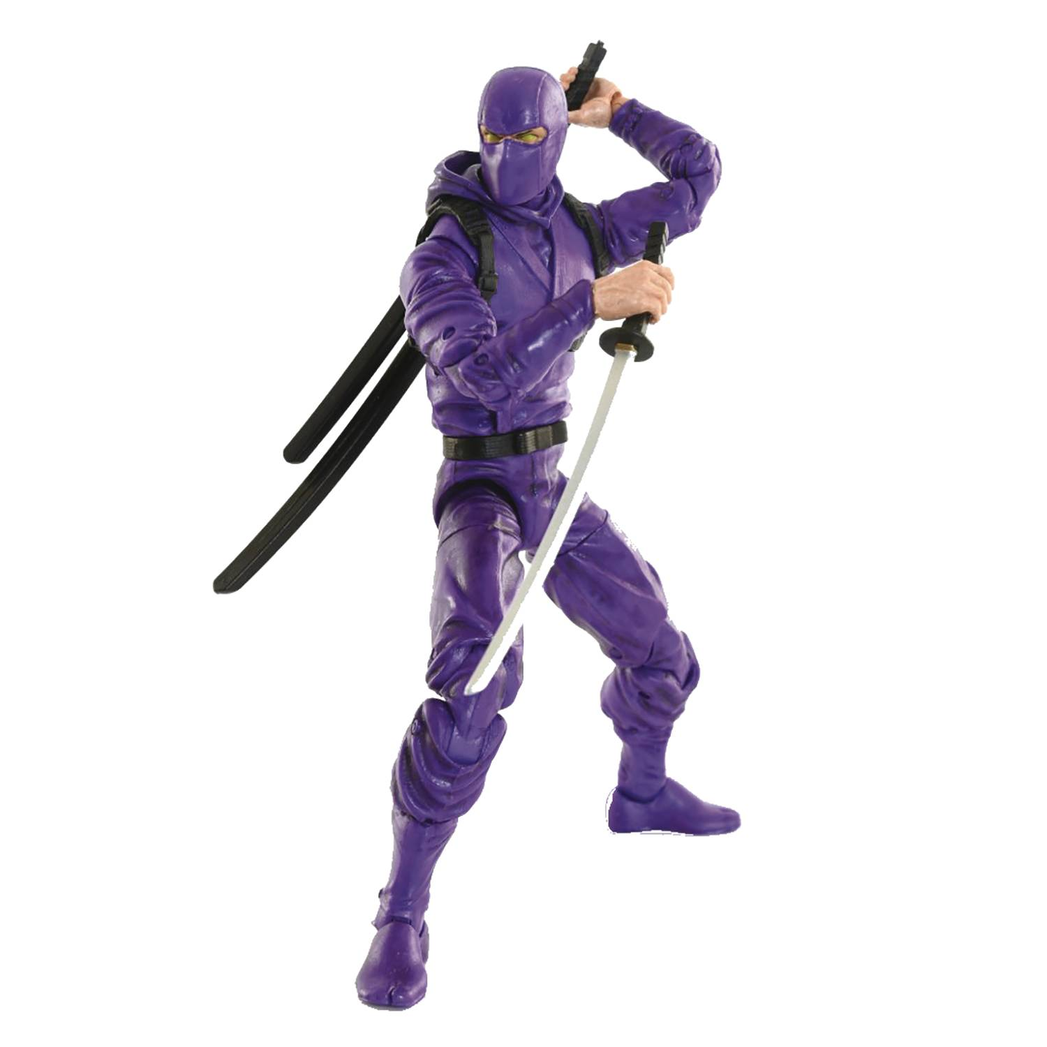 ARTICULATED ICONS BASIC NINJA PURPLE 6IN AF  (SEP208604