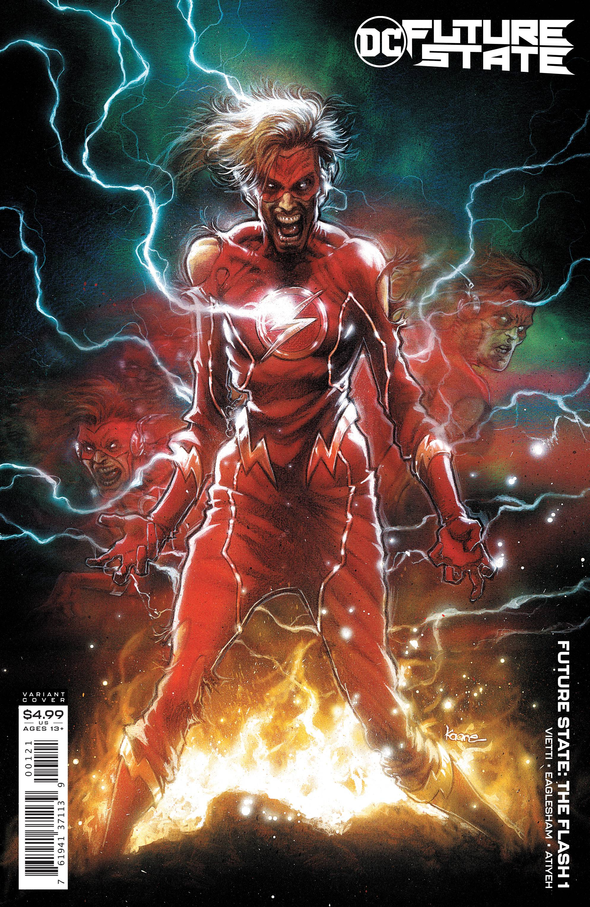 FUTURE STATE THE FLASH #1 CARD STOCK VAR ED