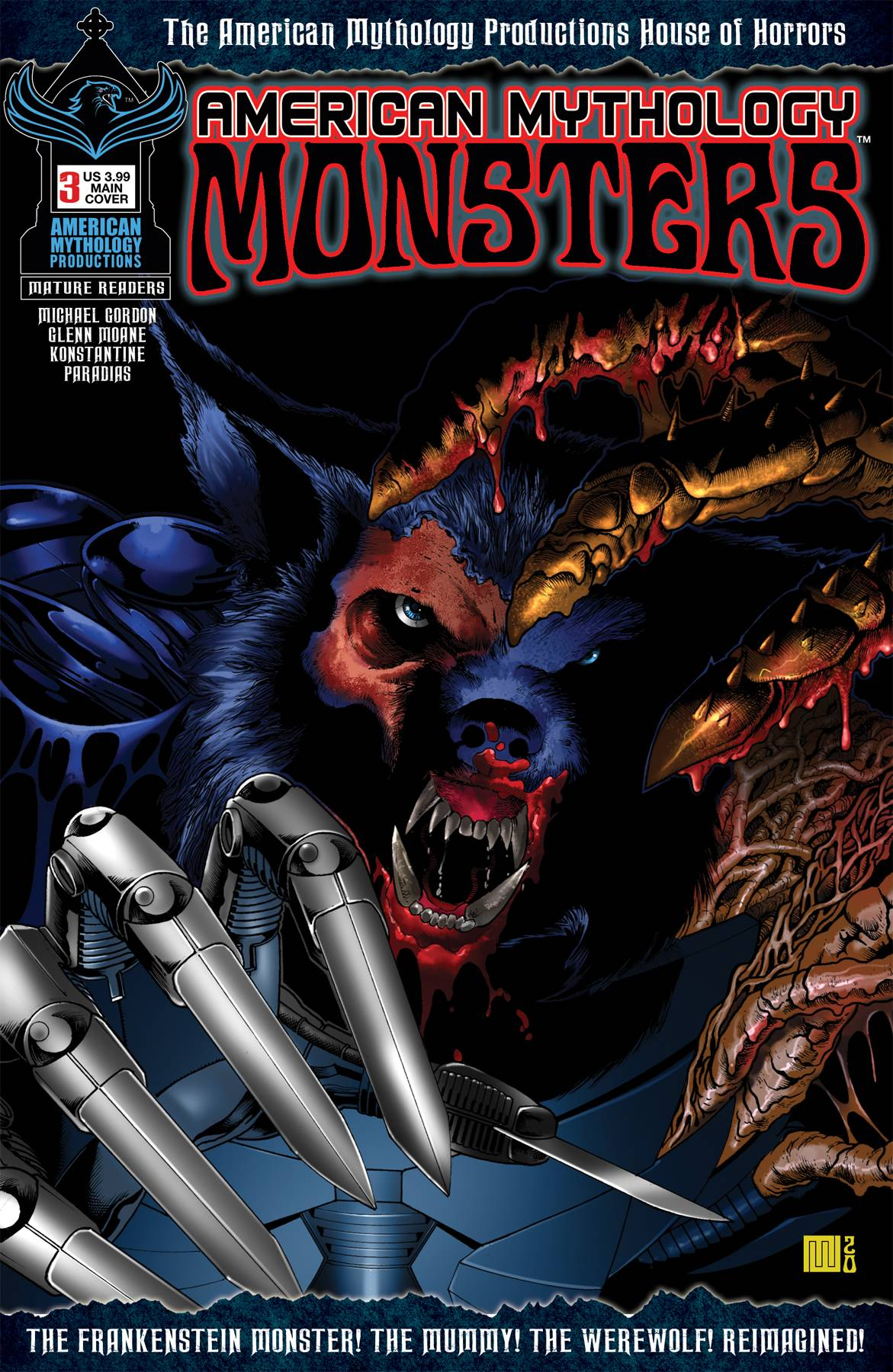 AMERICAN MYTHOLOGY MONSTERS #3 CVR A WOLFER (MR)
