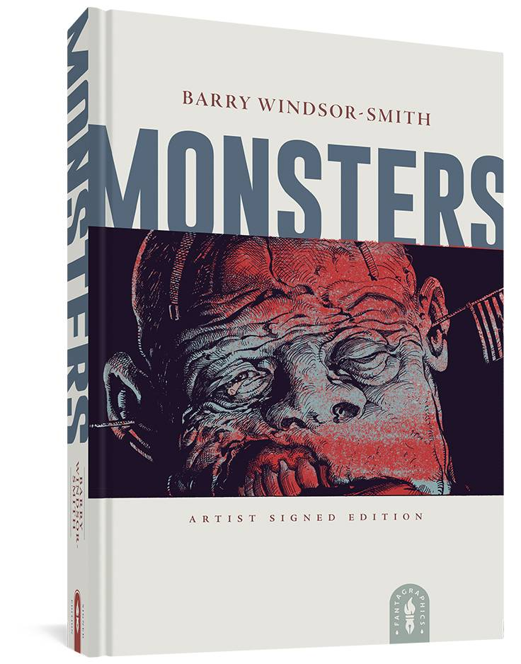 BARRY WINDSOR-SMITH MONSTERS SGND HC (MR)