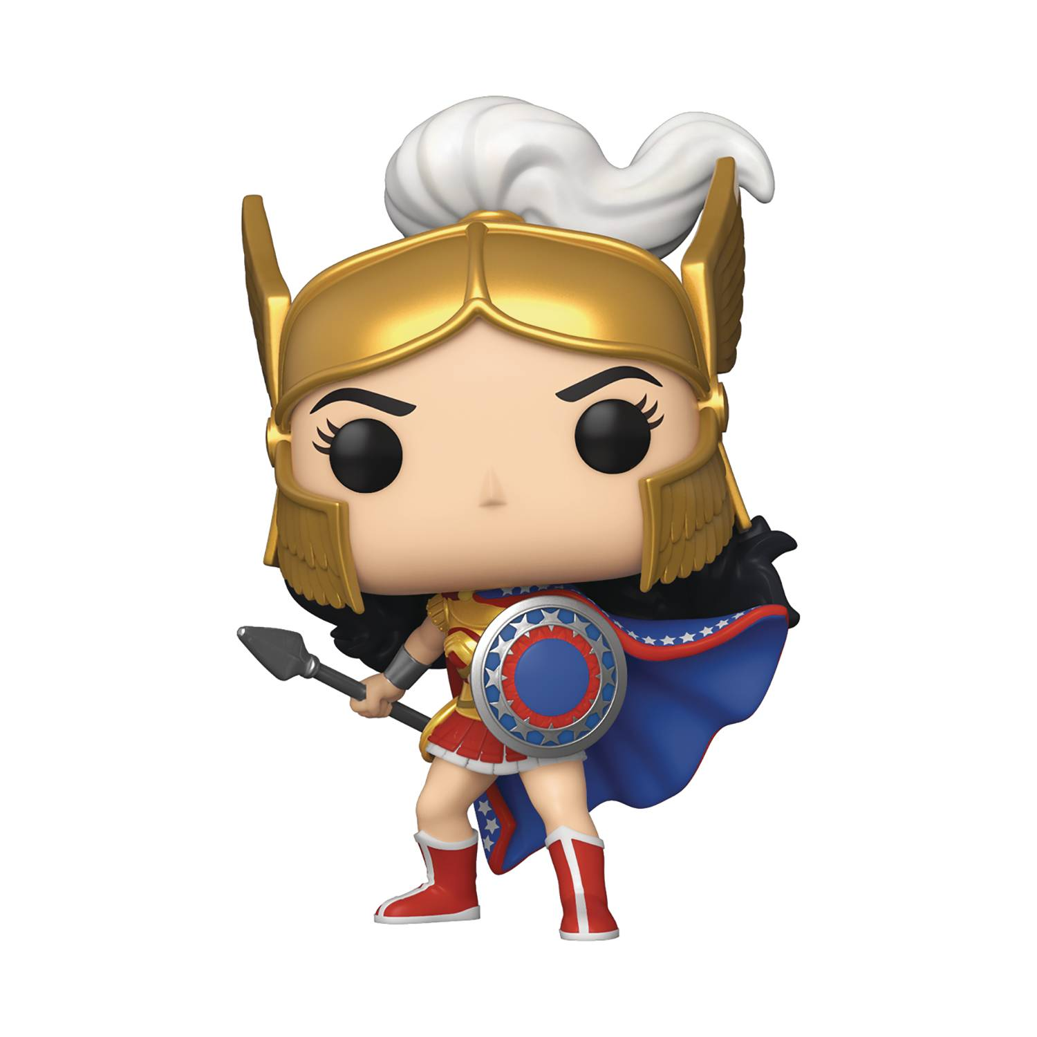 POP HEROES WONDER WOMAN 80TH WW CHALLENGE THE GODS VIN FIG (