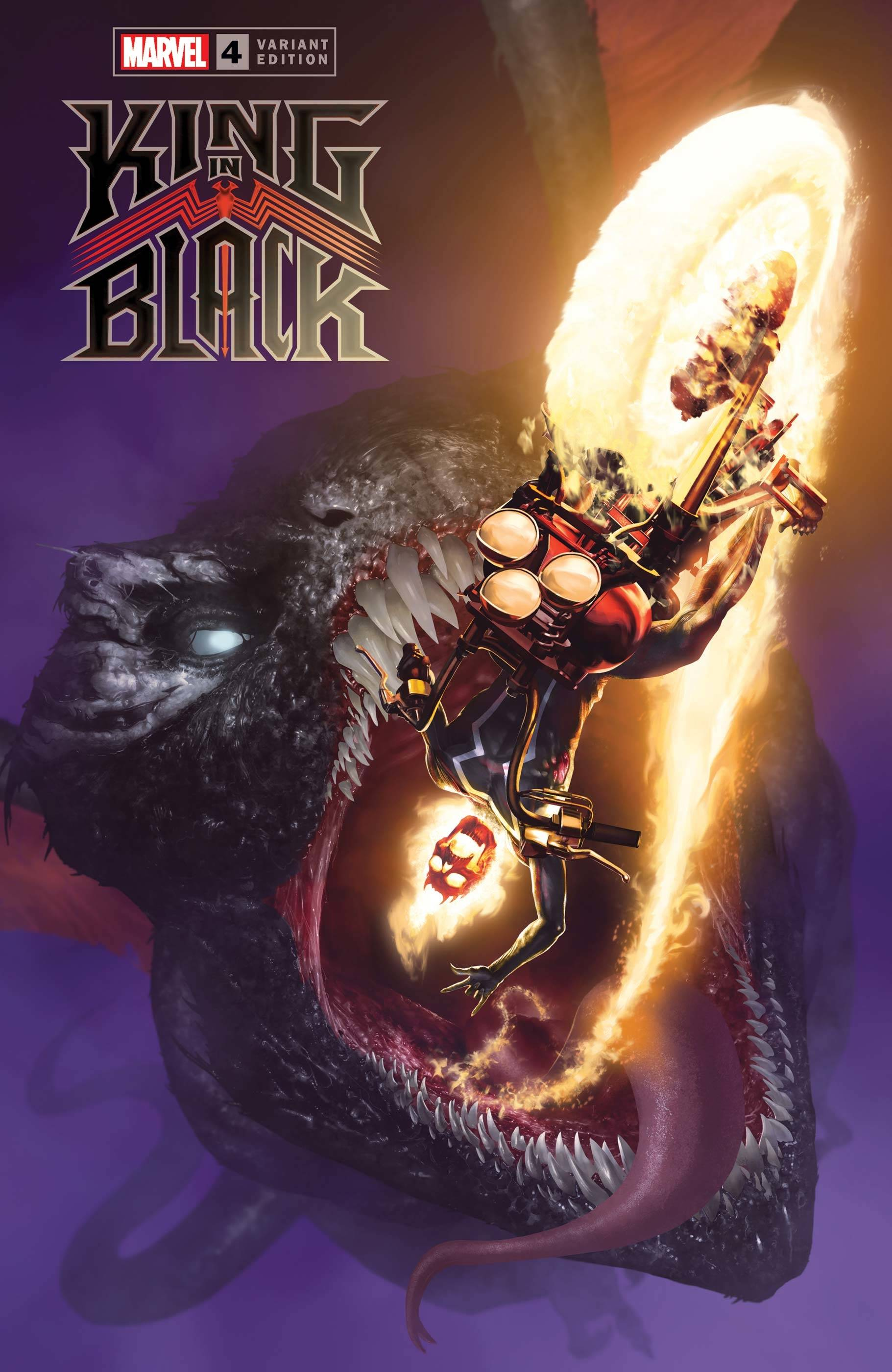KING IN BLACK #4 (OF 5) DRAGON RAHZZAH VAR