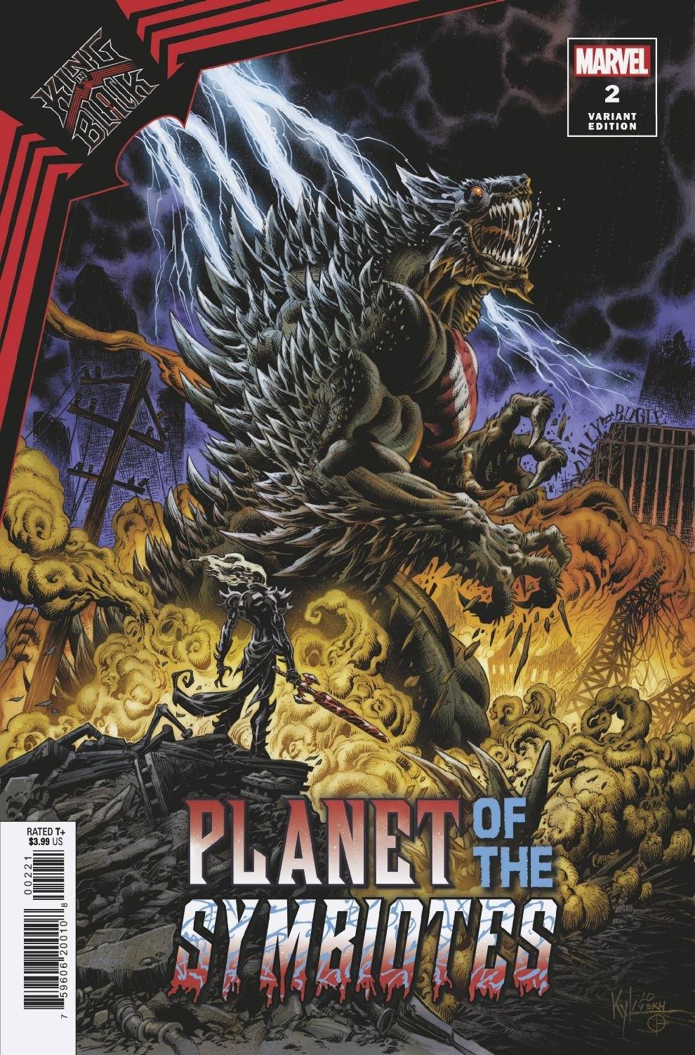 KING IN BLACK PLANET OF SYMBIOTES #2 (OF 3) HOTZ VAR