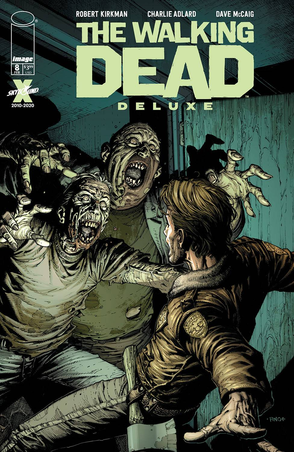 WALKING DEAD DLX #8 CVR A FINCH & MCCAIG (MR)
