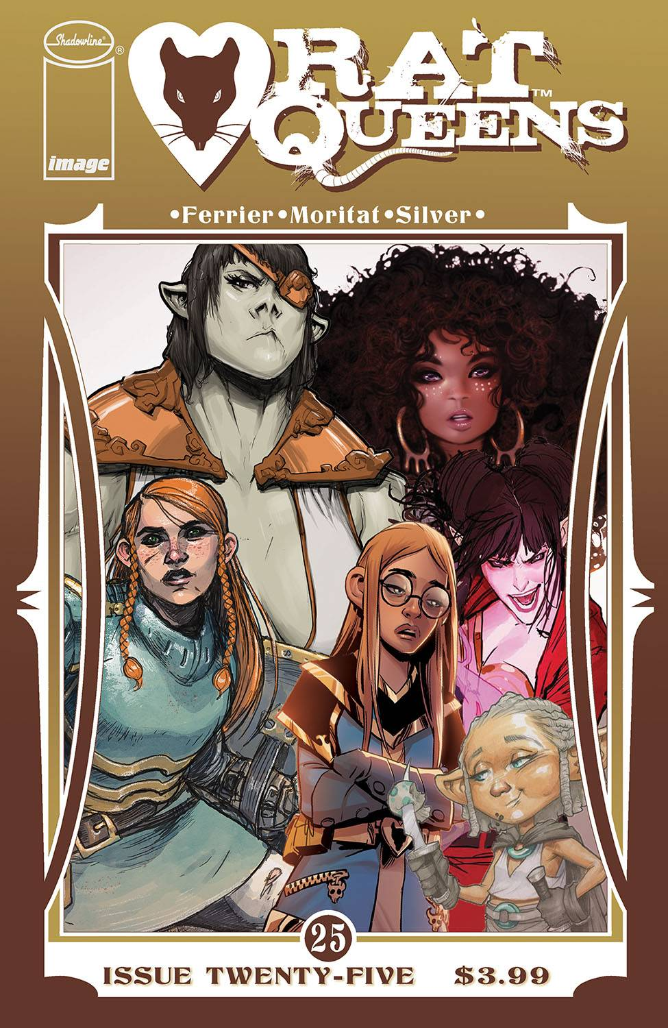 RAT QUEENS #25 CVR B COLLAGE VAR (MR)