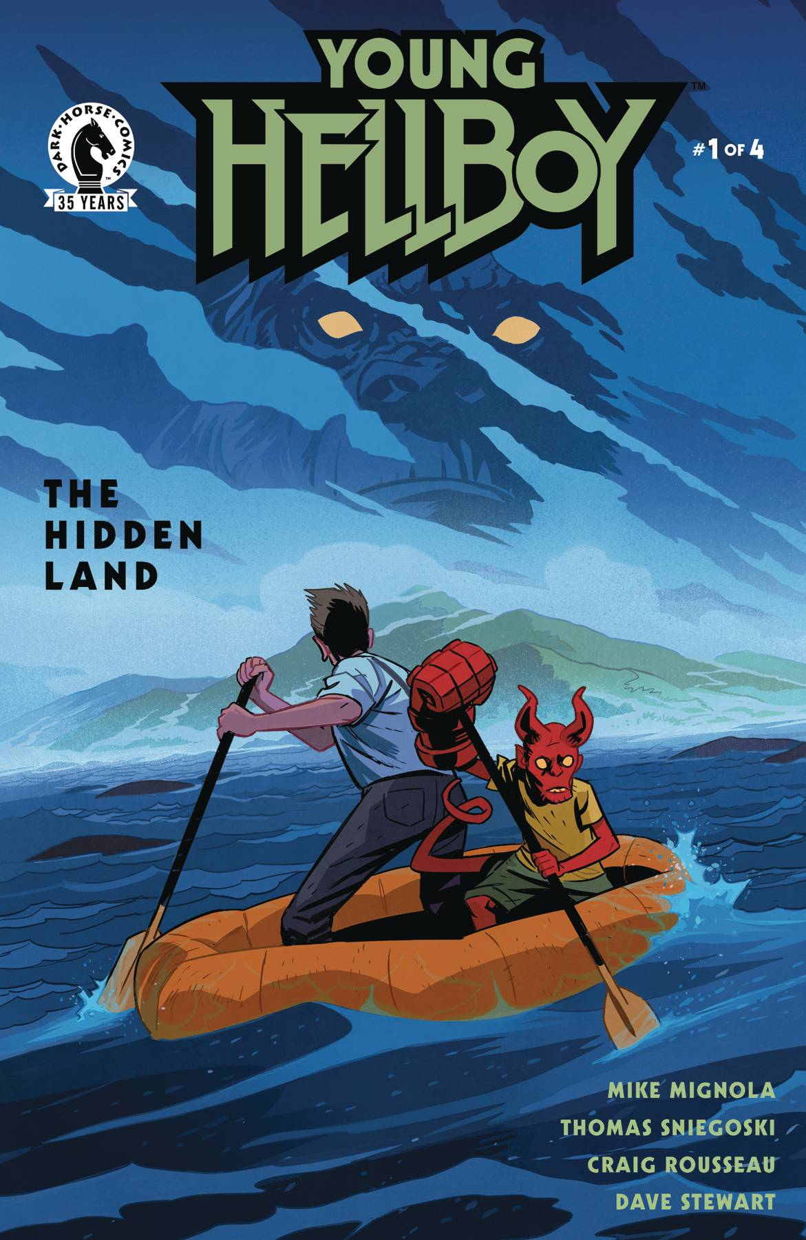 YOUNG HELLBOY THE HIDDEN LAND #1 (OF 4)