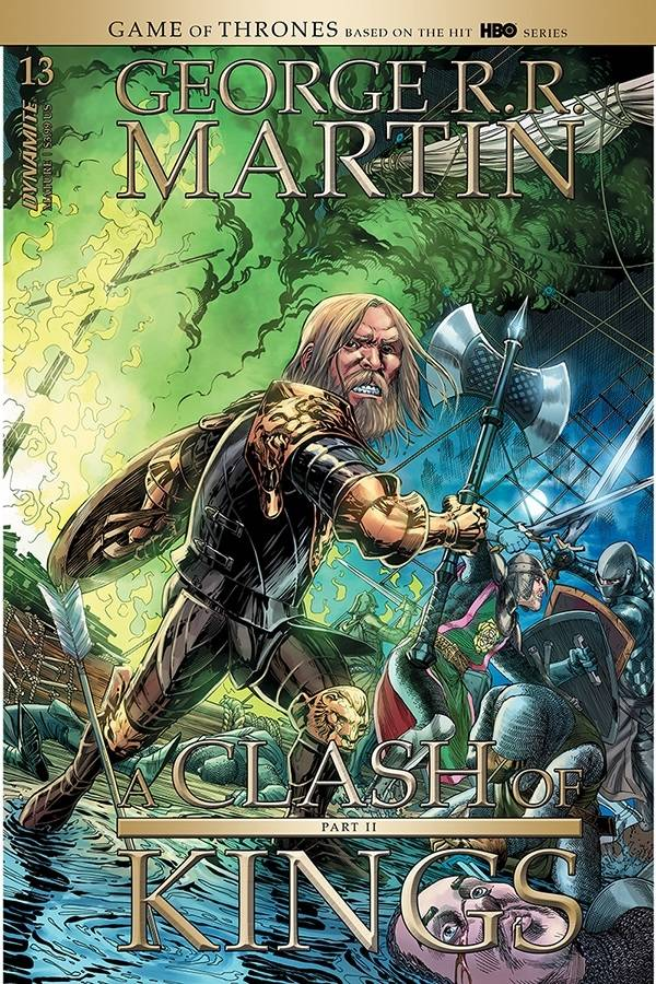 GEORGE RR MARTIN A CLASH OF KINGS #12 CVR A MILLER (RES) (MR