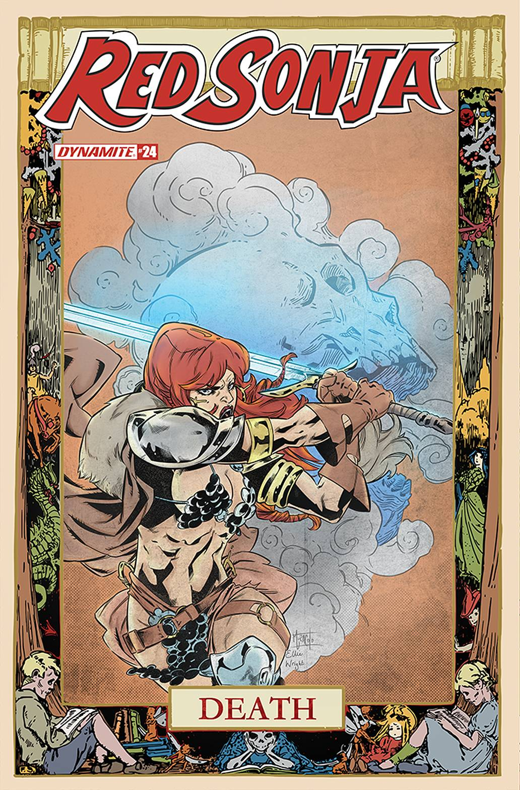 RED SONJA #24 7 COPY MIRACOLO INCV