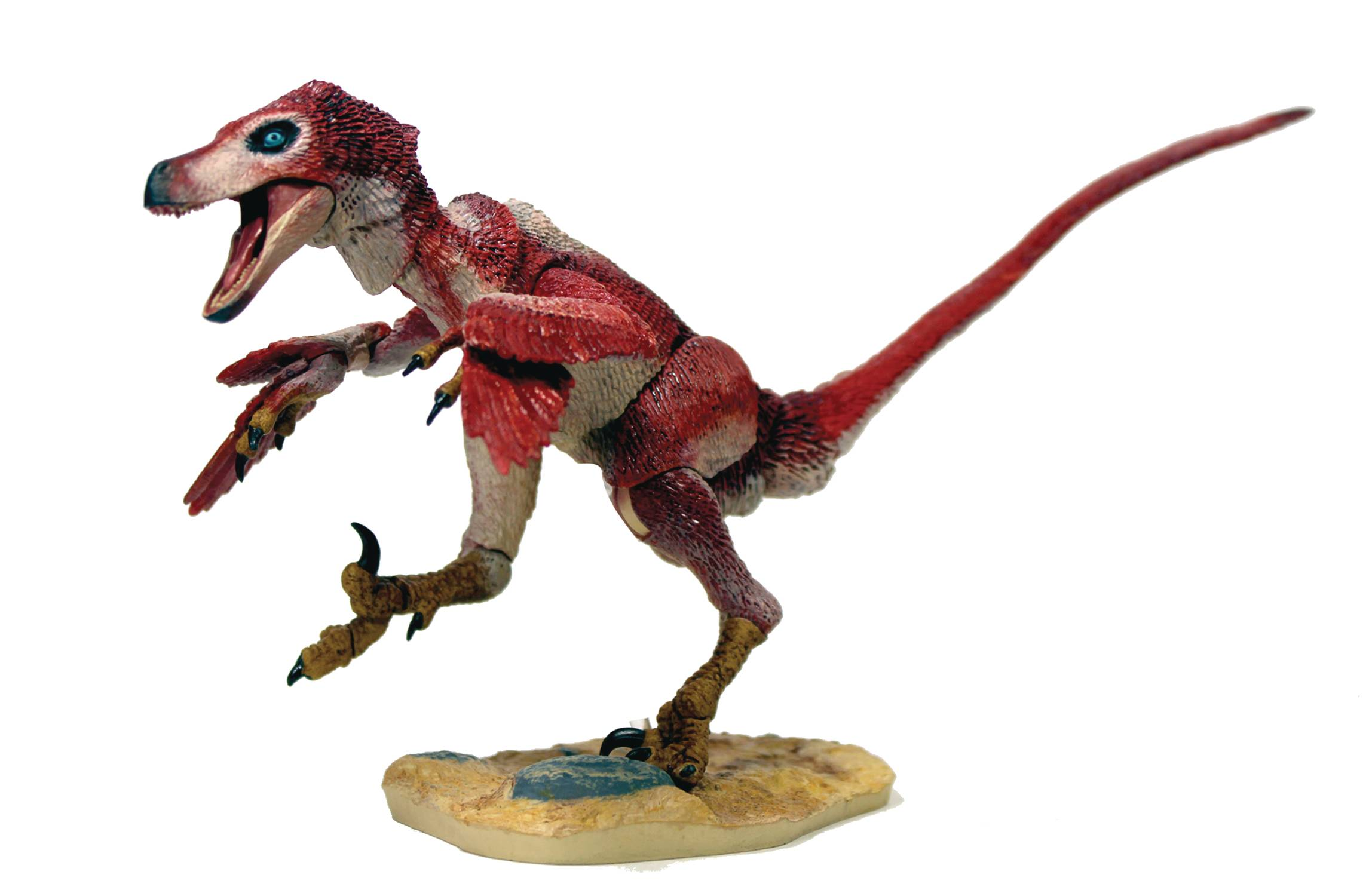 BEASTS OF MESOZOIC RAPTOR SER 2 OSMOLSKAE RED VERSION 2 AF (