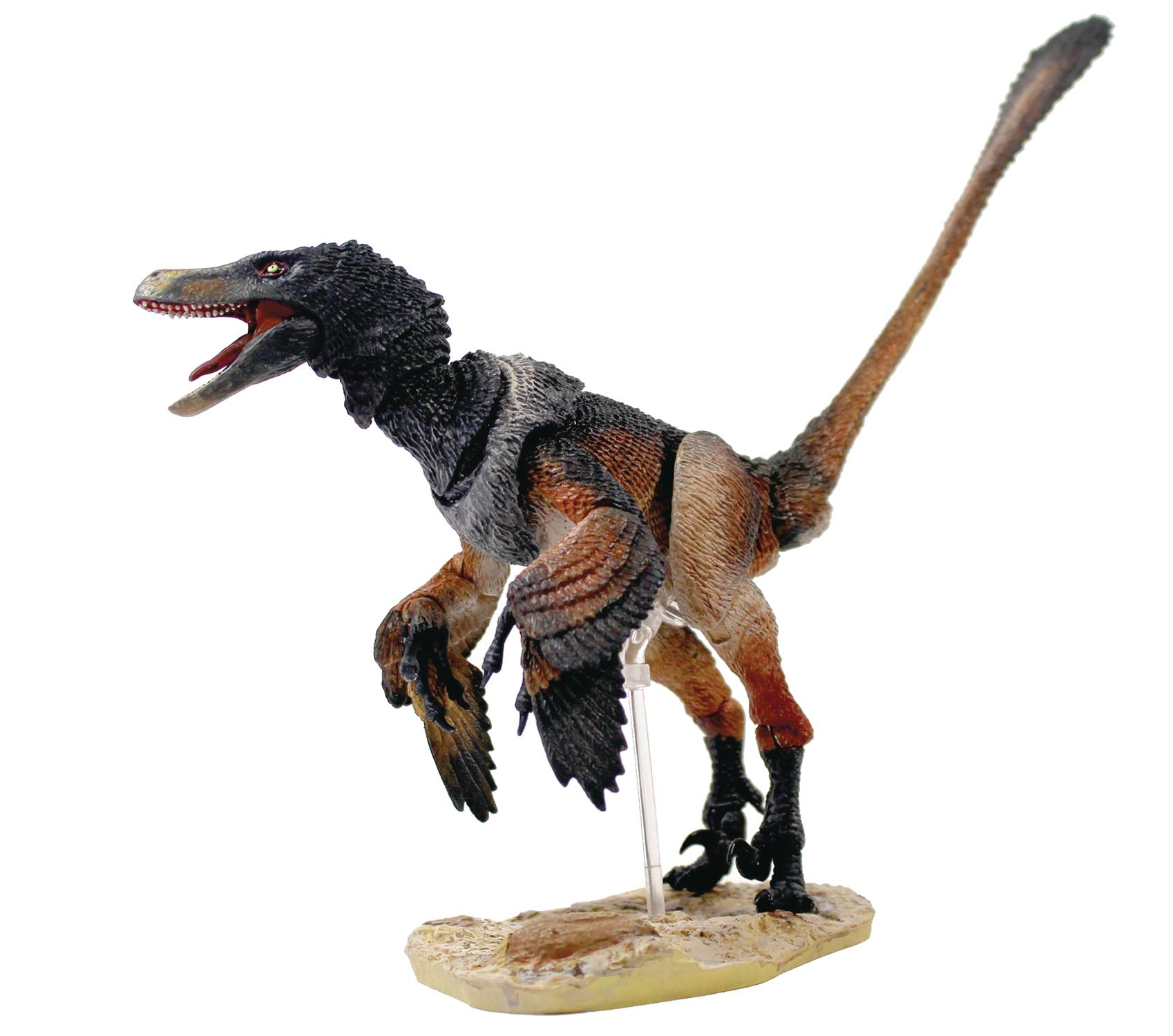BEASTS OF MESOZOIC RAPTOR SER 2 MONGOLIENSIS BLACK VER 2 AF