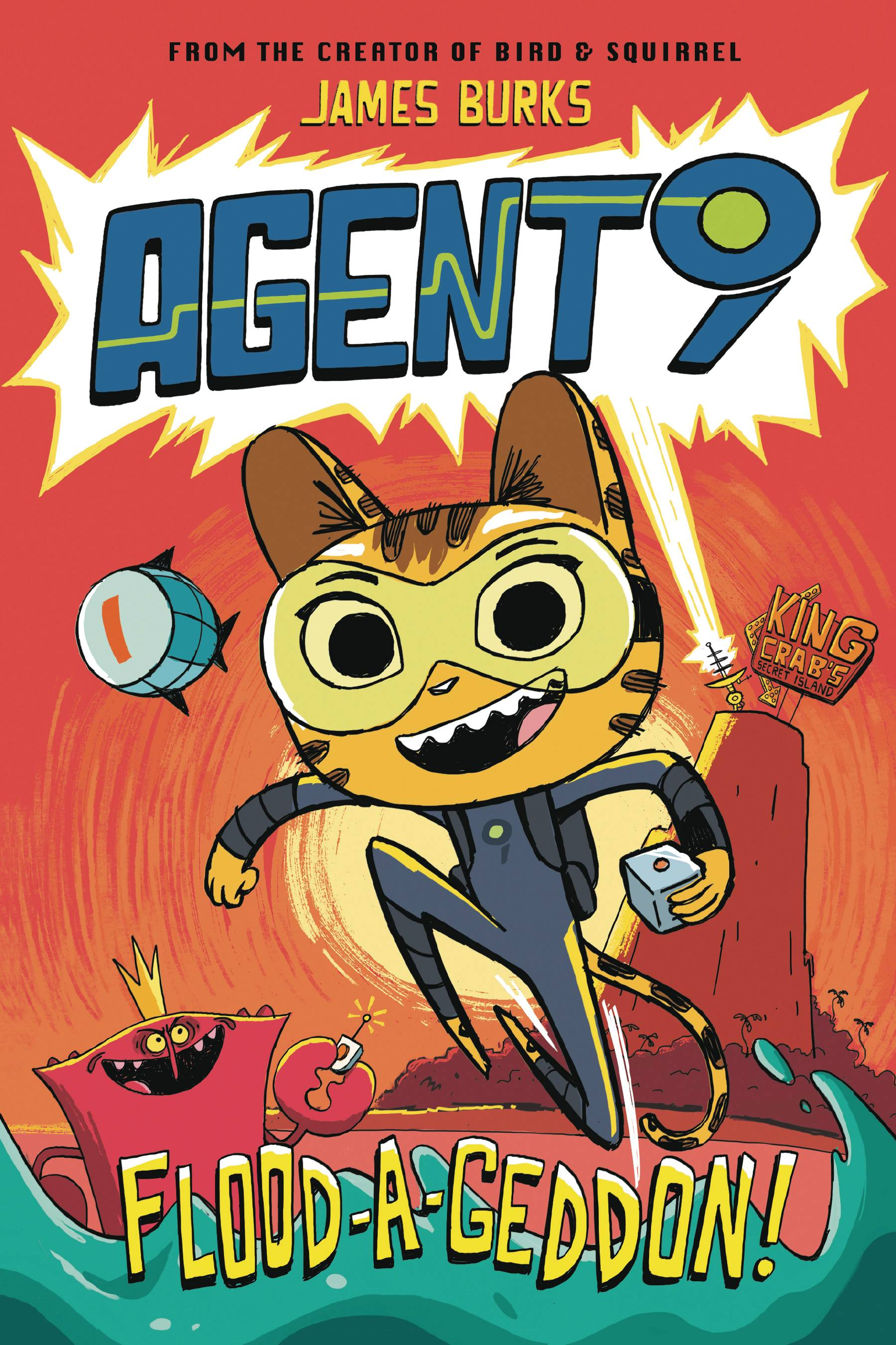 AGENT 9 HC GN VOL 01 FLOOD A GEDDON