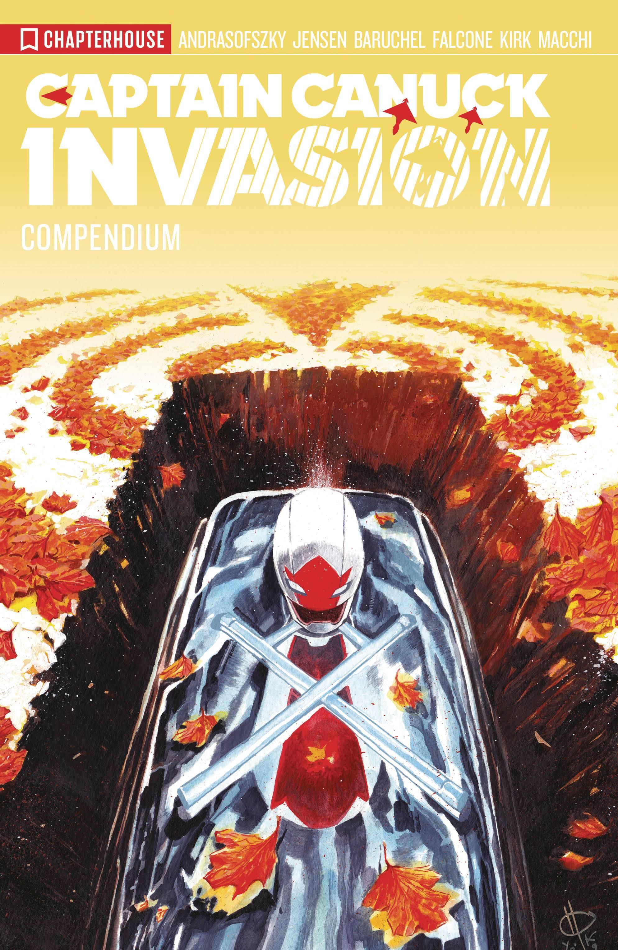 Captain Canuck Invasion Compendium