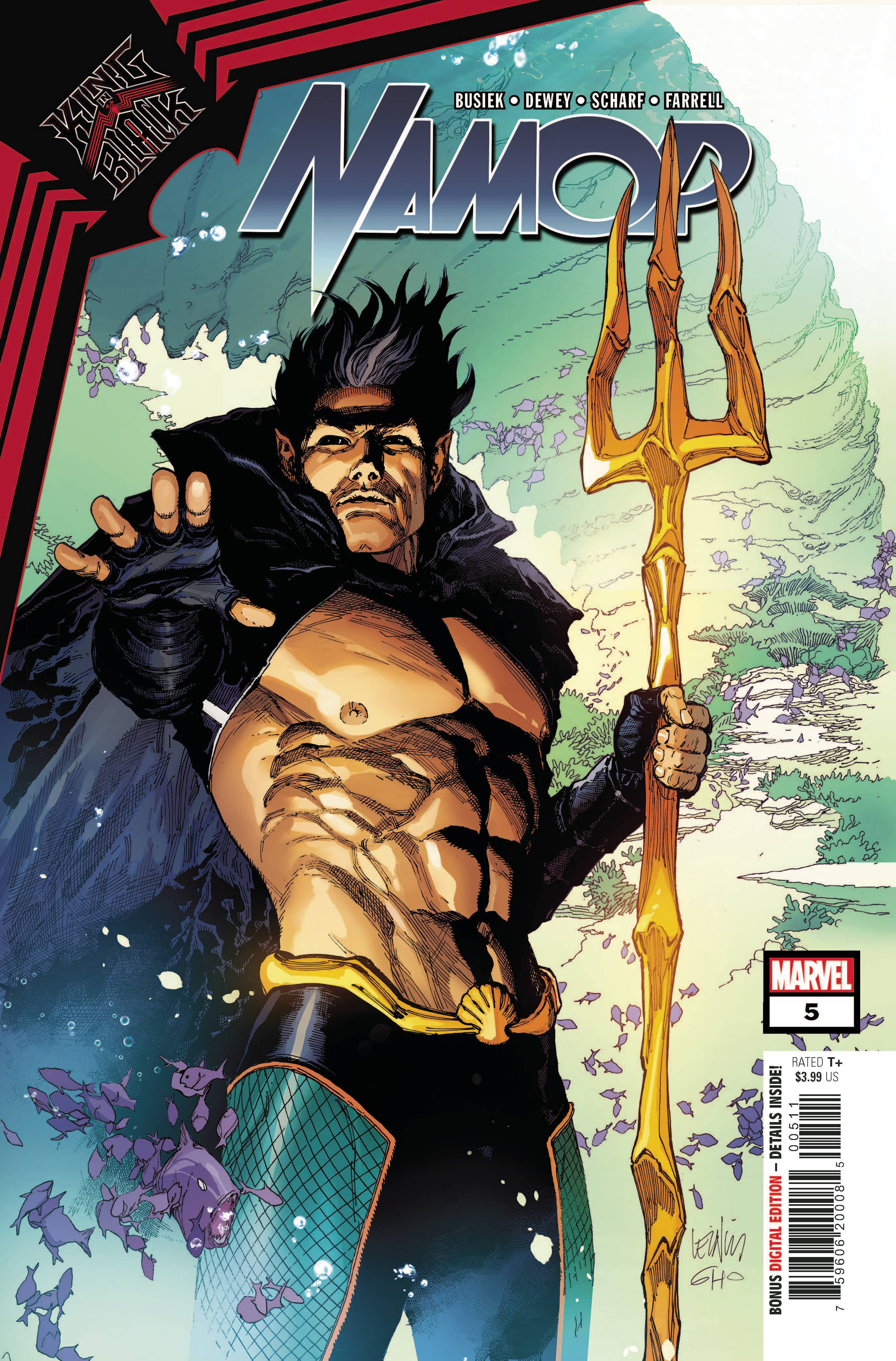 KING IN BLACK NAMOR #5 (OF 5)