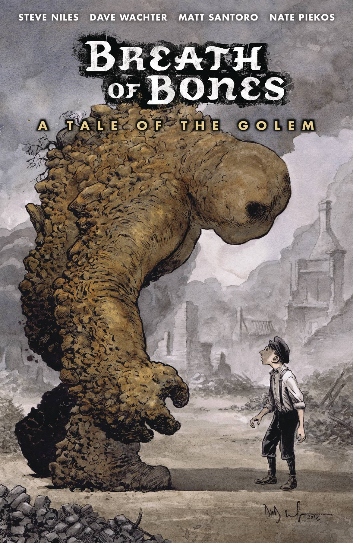 BREATH OF BONES A TALE OF GOLEM TP (MR)