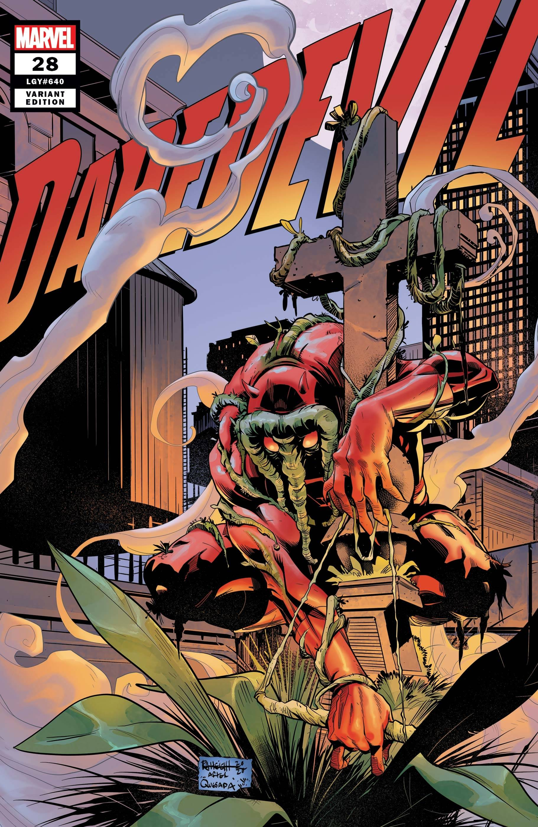 DAREDEVIL #28 HEIGHT DAREDEVIL-THING VAR