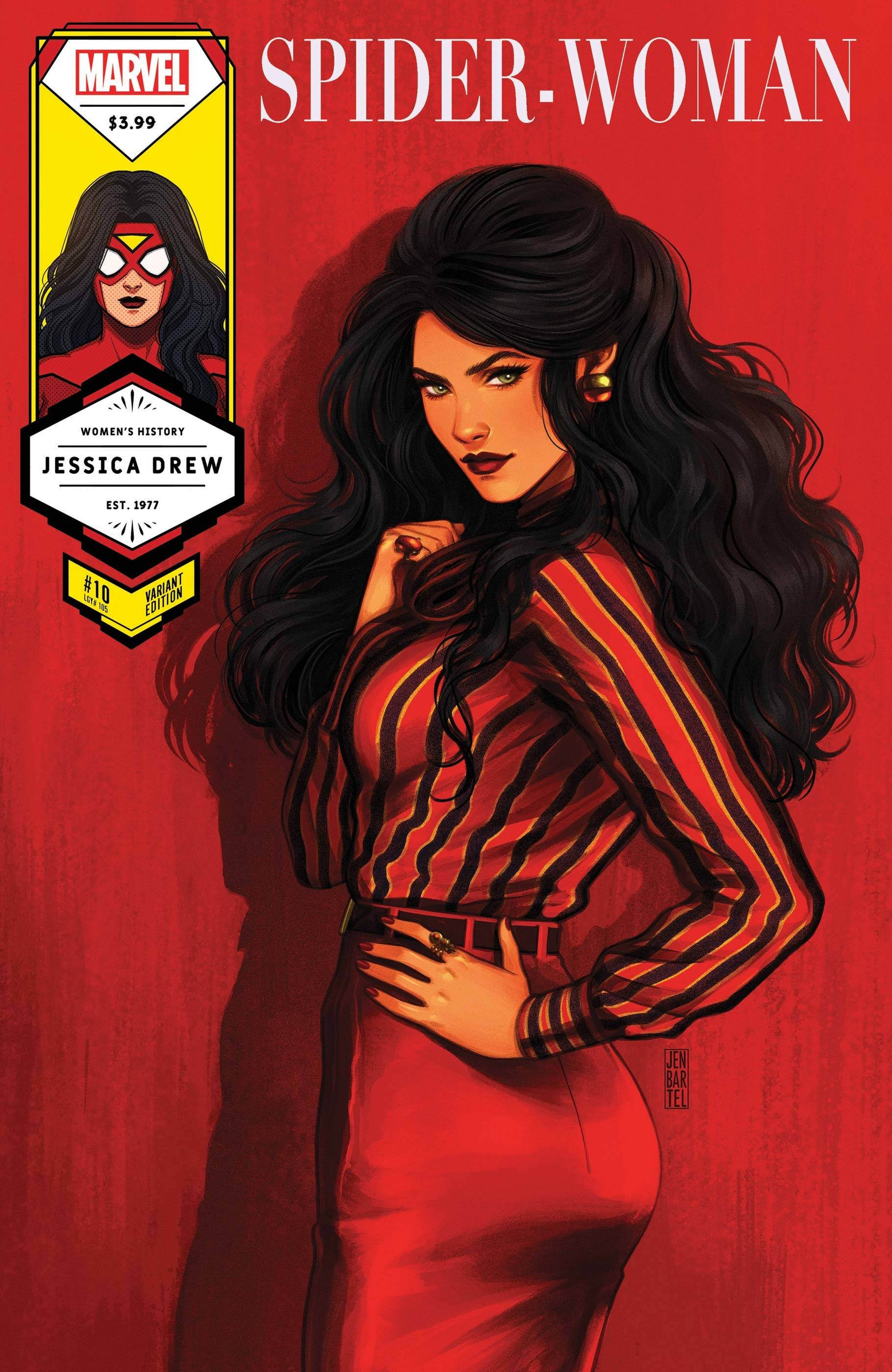 SPIDER-WOMAN #10 BARTEL SPIDER-WOMAN WOMENS HISTORY MONTH VA