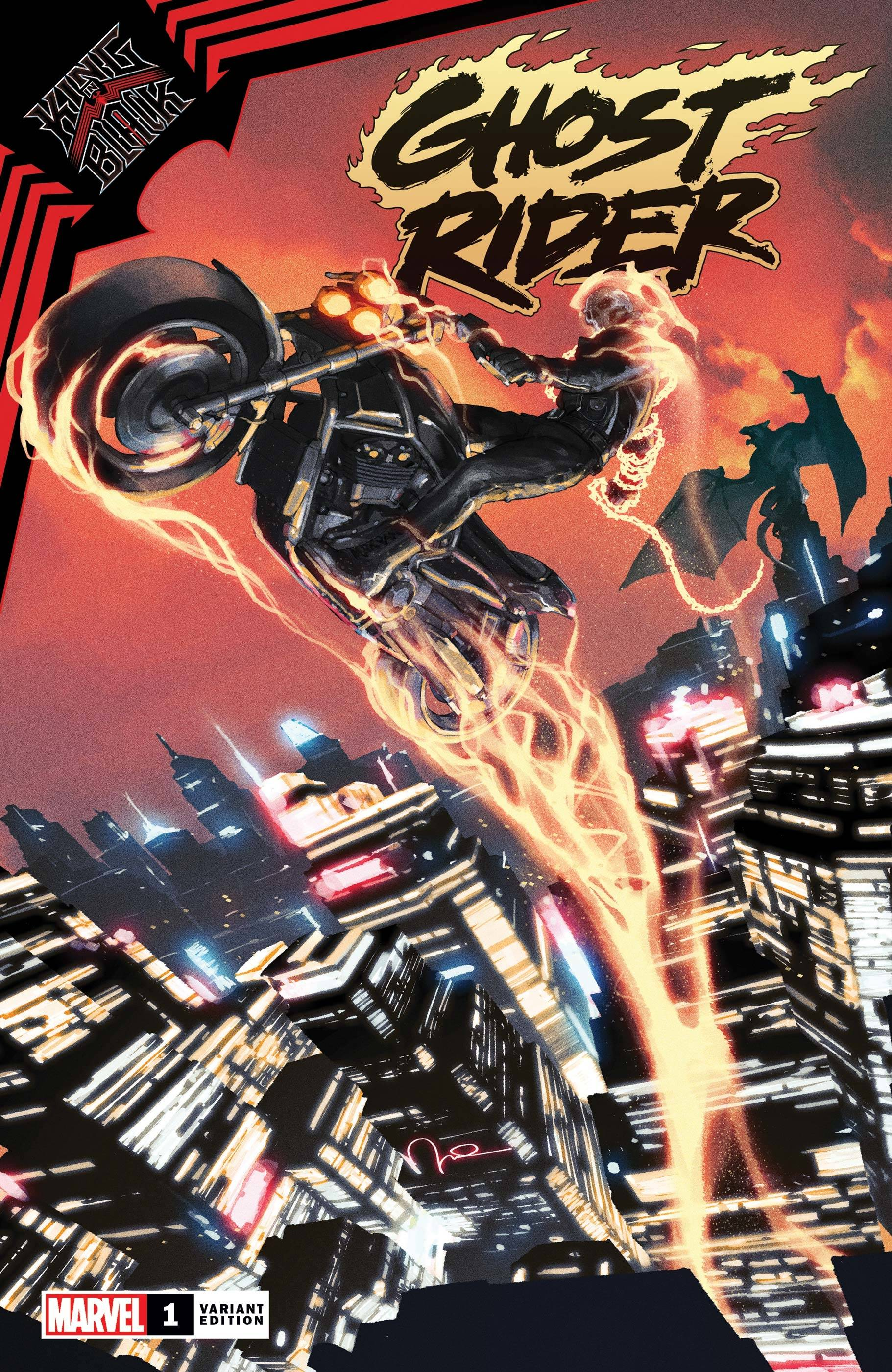 KING IN BLACK GHOST RIDER #1 PAREL VAR