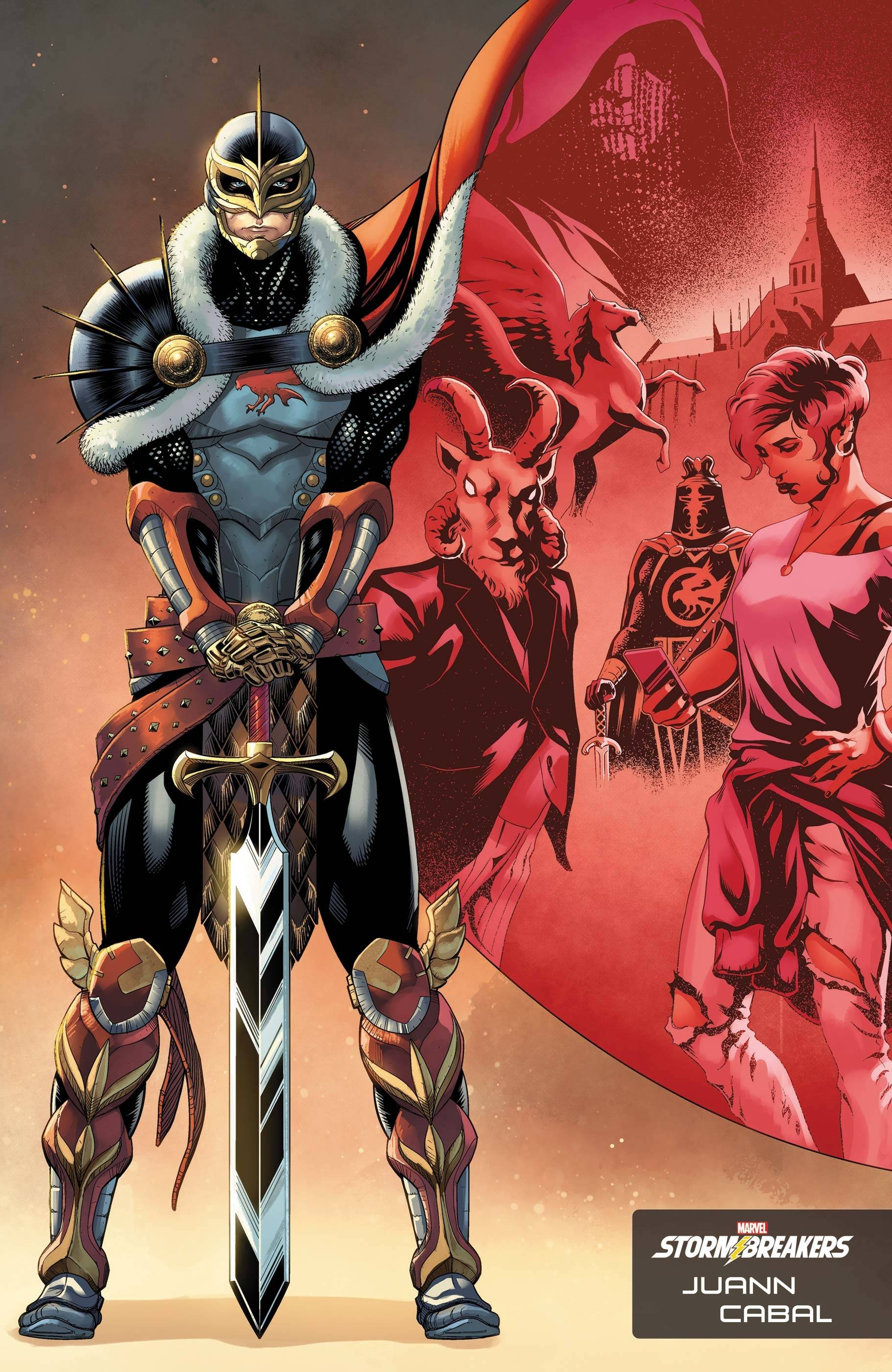BLACK KNIGHT CURSE EBONY BLADE #1 (OF 5) CABAL STORMBREAKERS