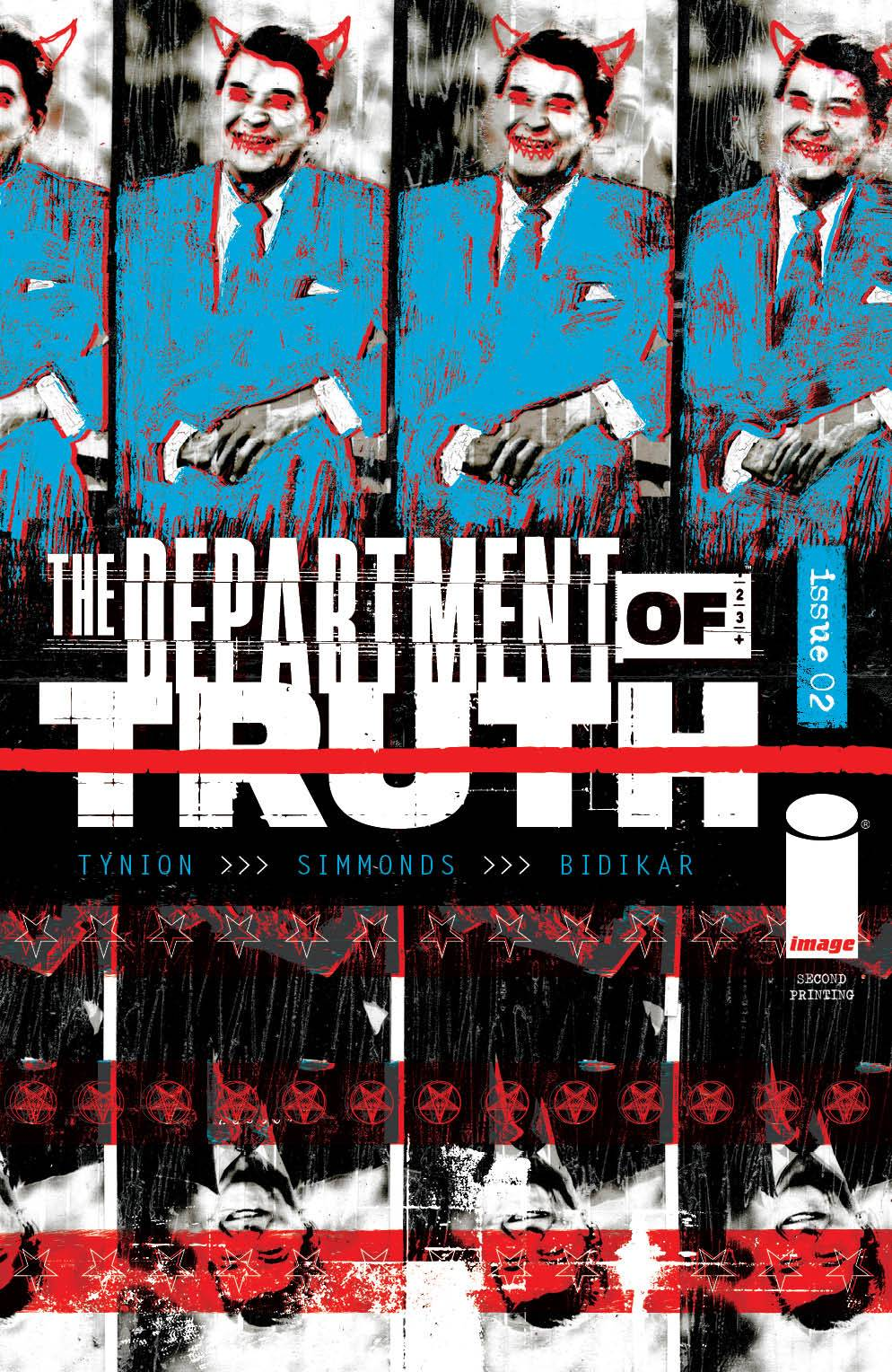 DEPARTMENT OF TRUTH #2 2ND PTG (MR)