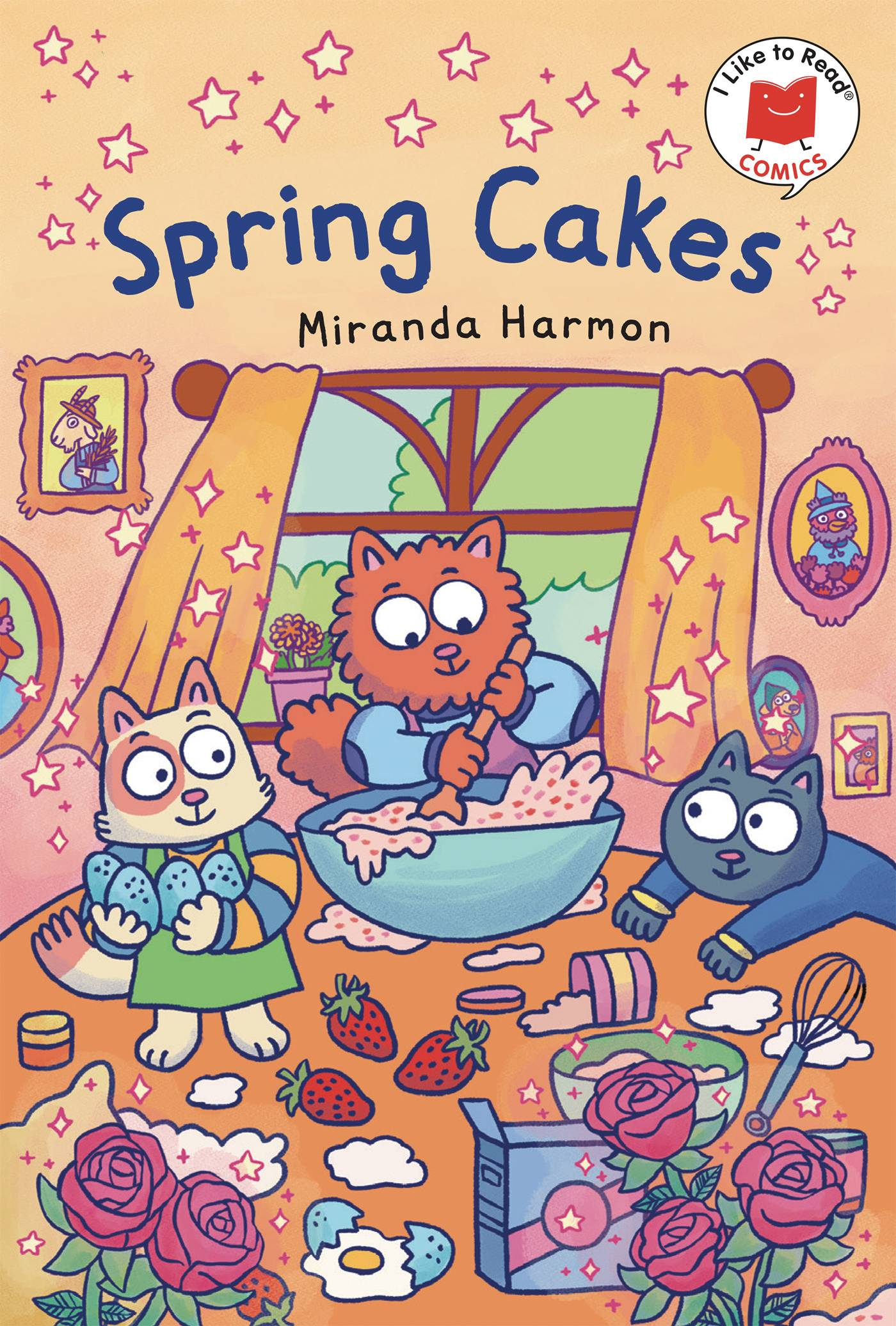 I LIKE TO READ COMICS GN SPRING CAKES
