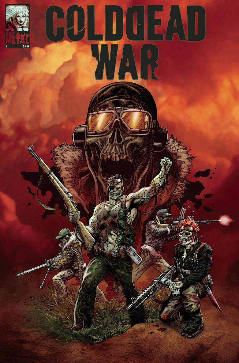 COLD DEAD WAR #2 (OF 4) (MR)
