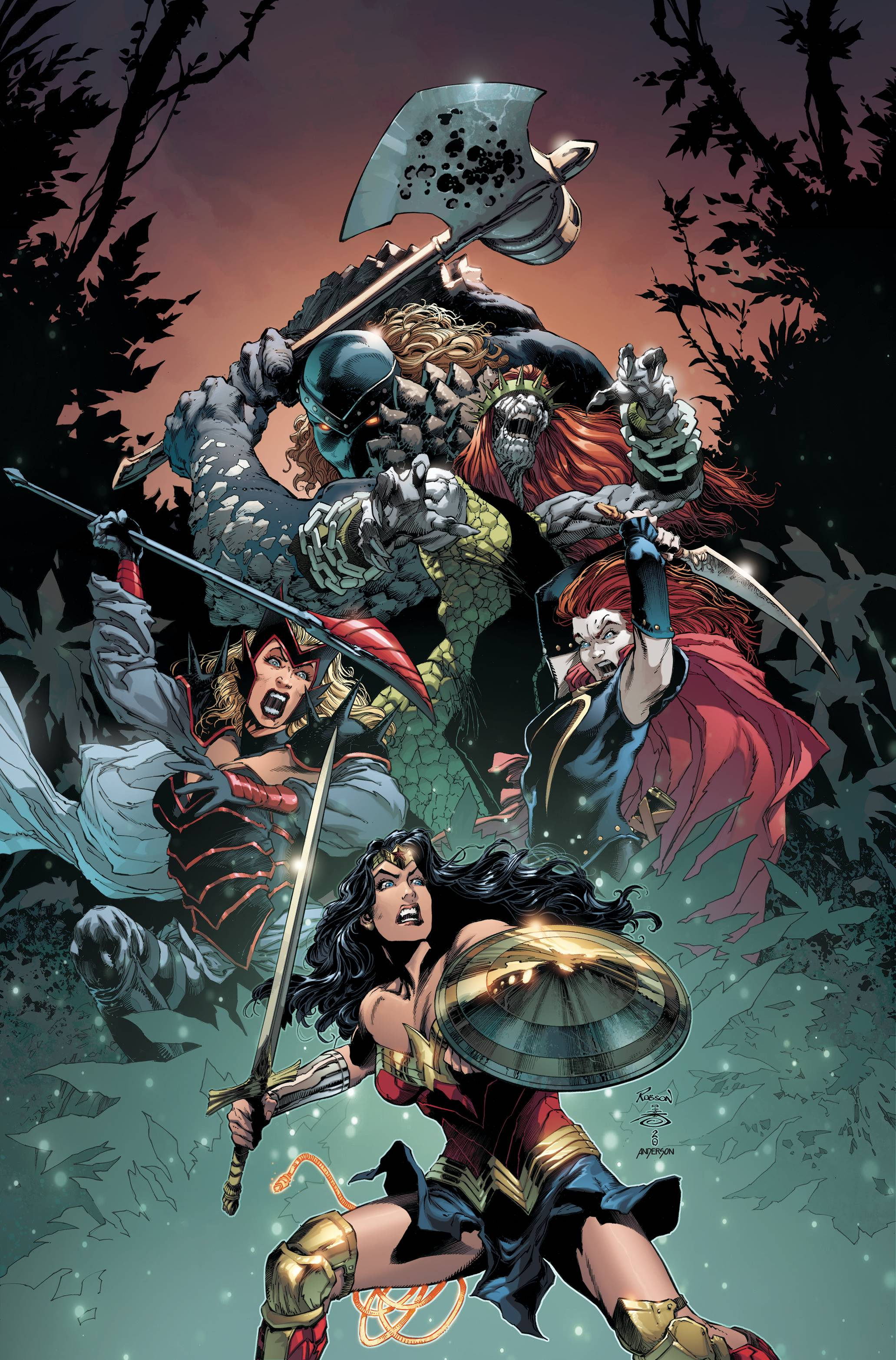 WONDER WOMAN TP VOL 04 FOUR HORSEWOMEN