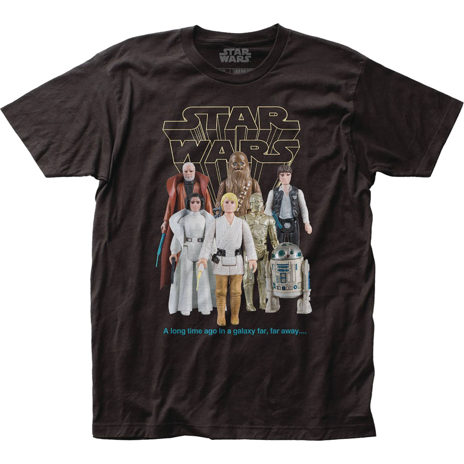 STAR WARS GOOD GUYS ACTION FIGURES T/S XL